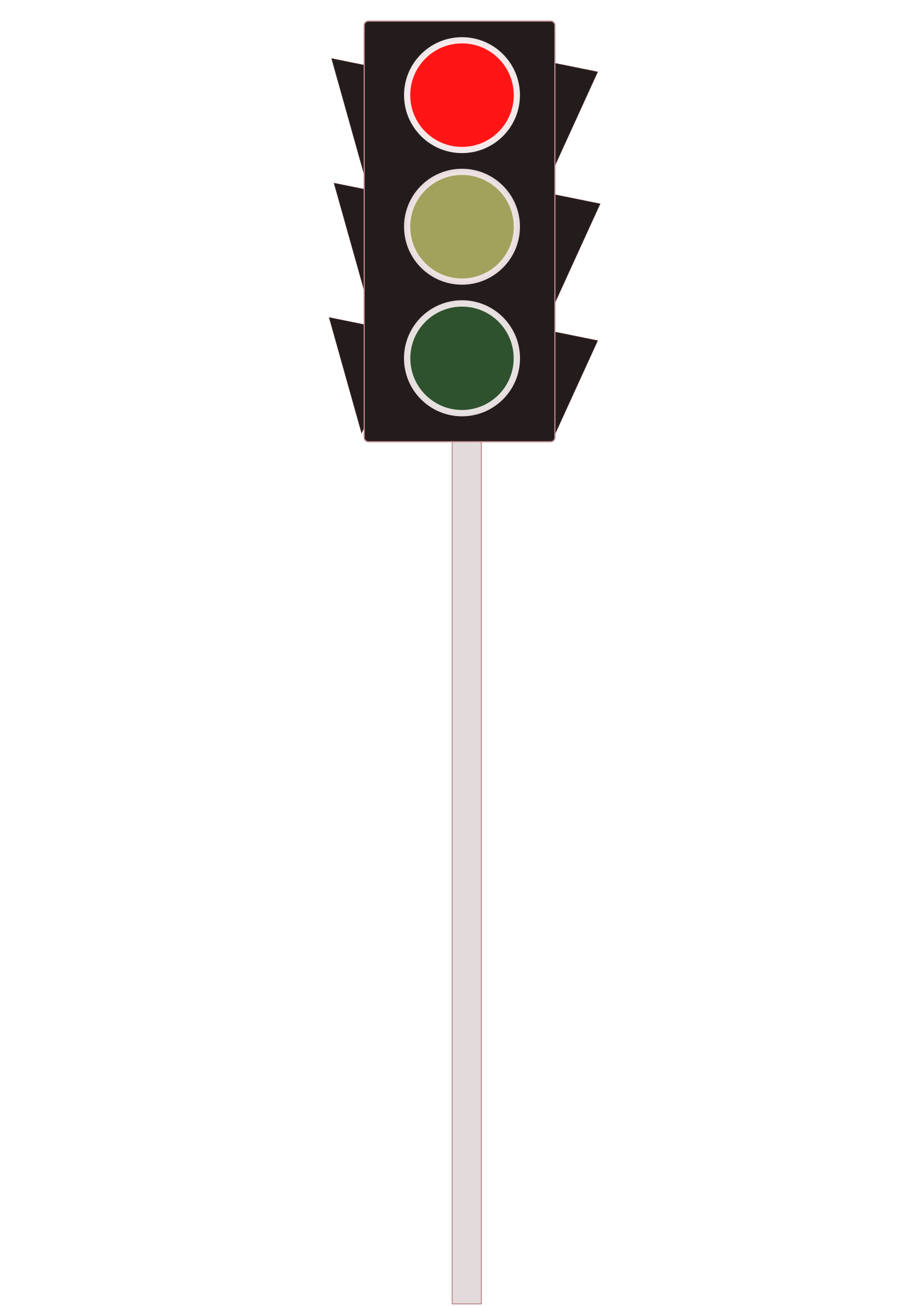 Traffic Signal Red by The Martin