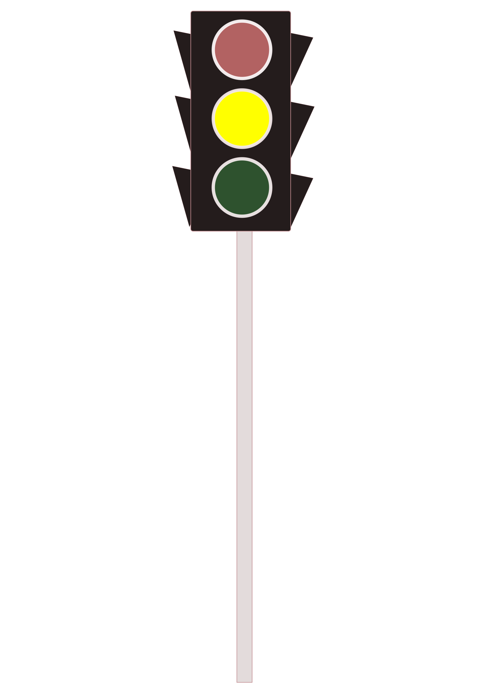 Traffic Signal Yellow by The Martin