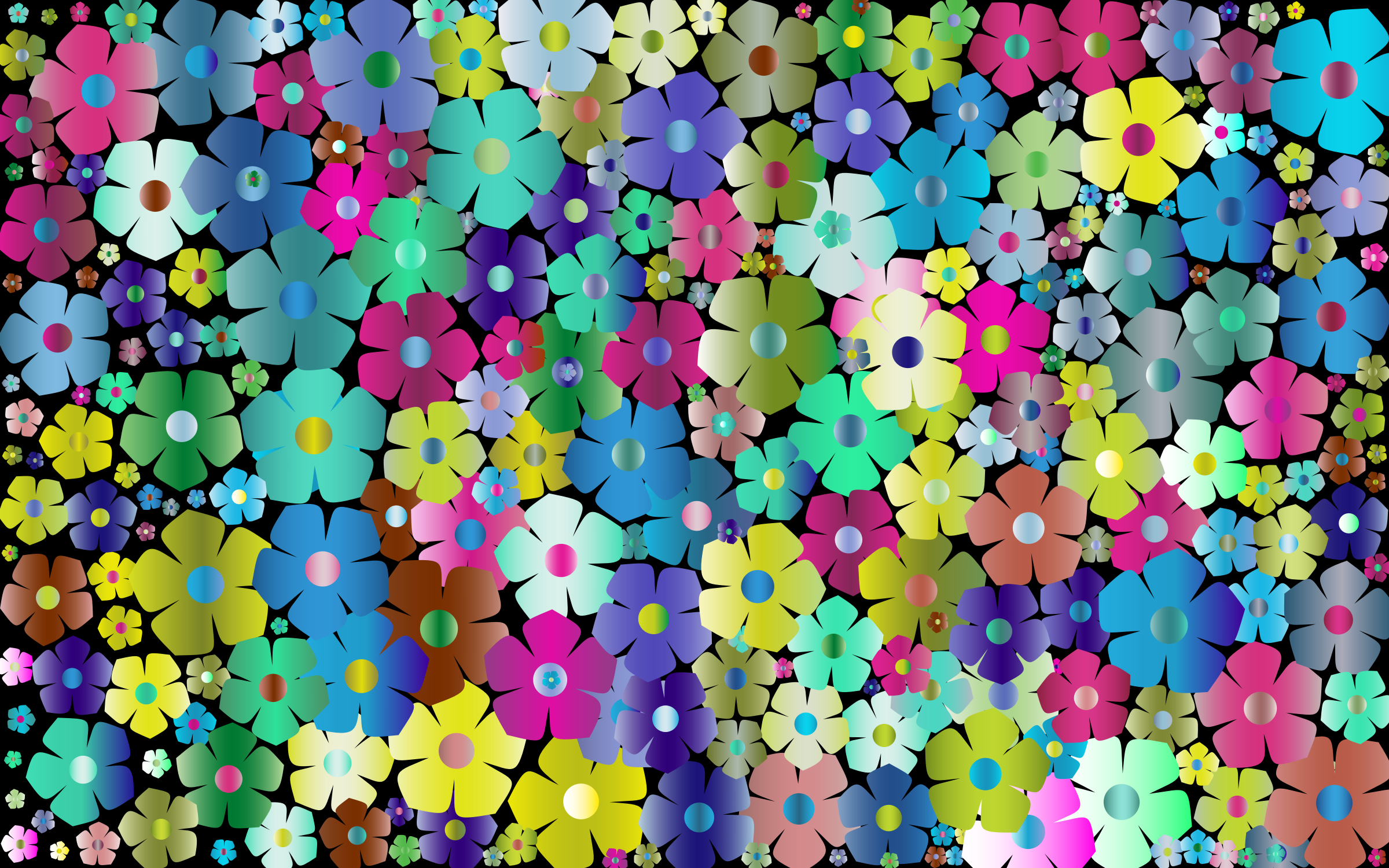 Simple Floral Background 3 by GDJ