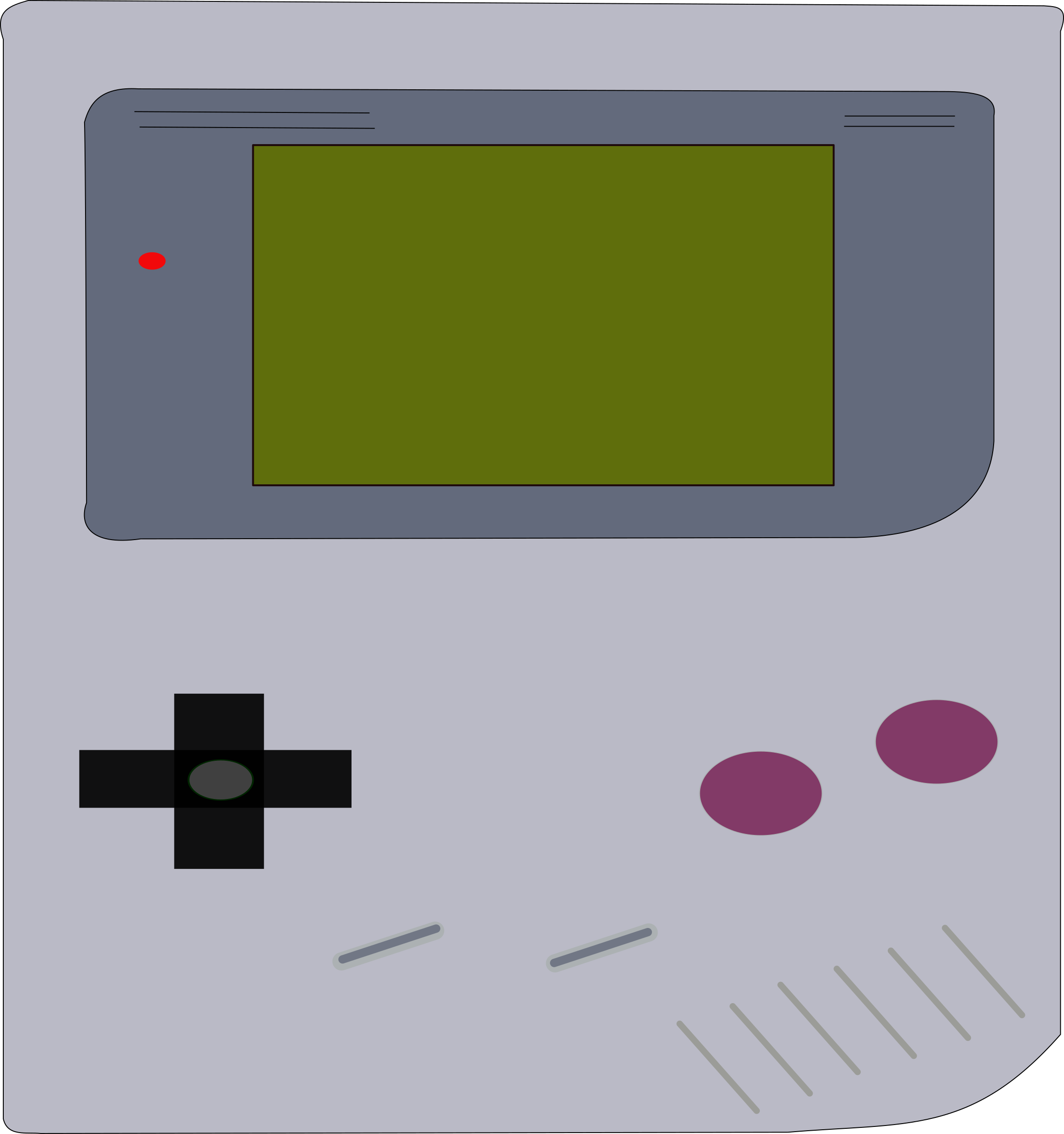 Gameboy by Tavin