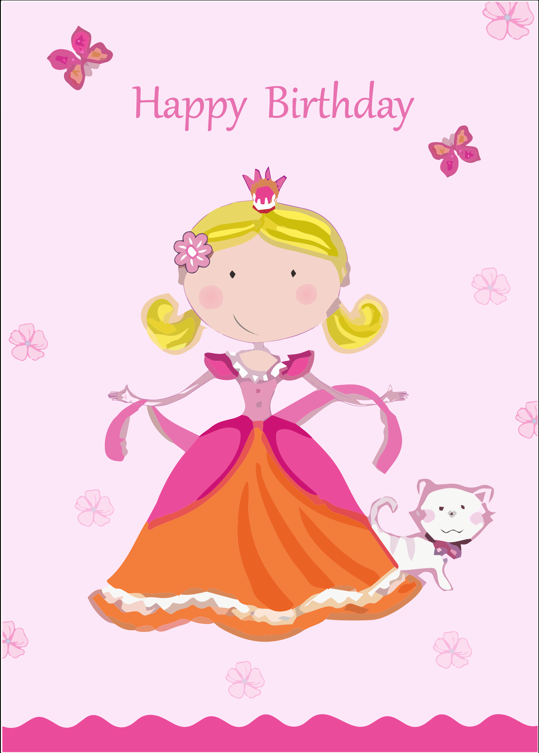 Clipart Animated Birthday Card