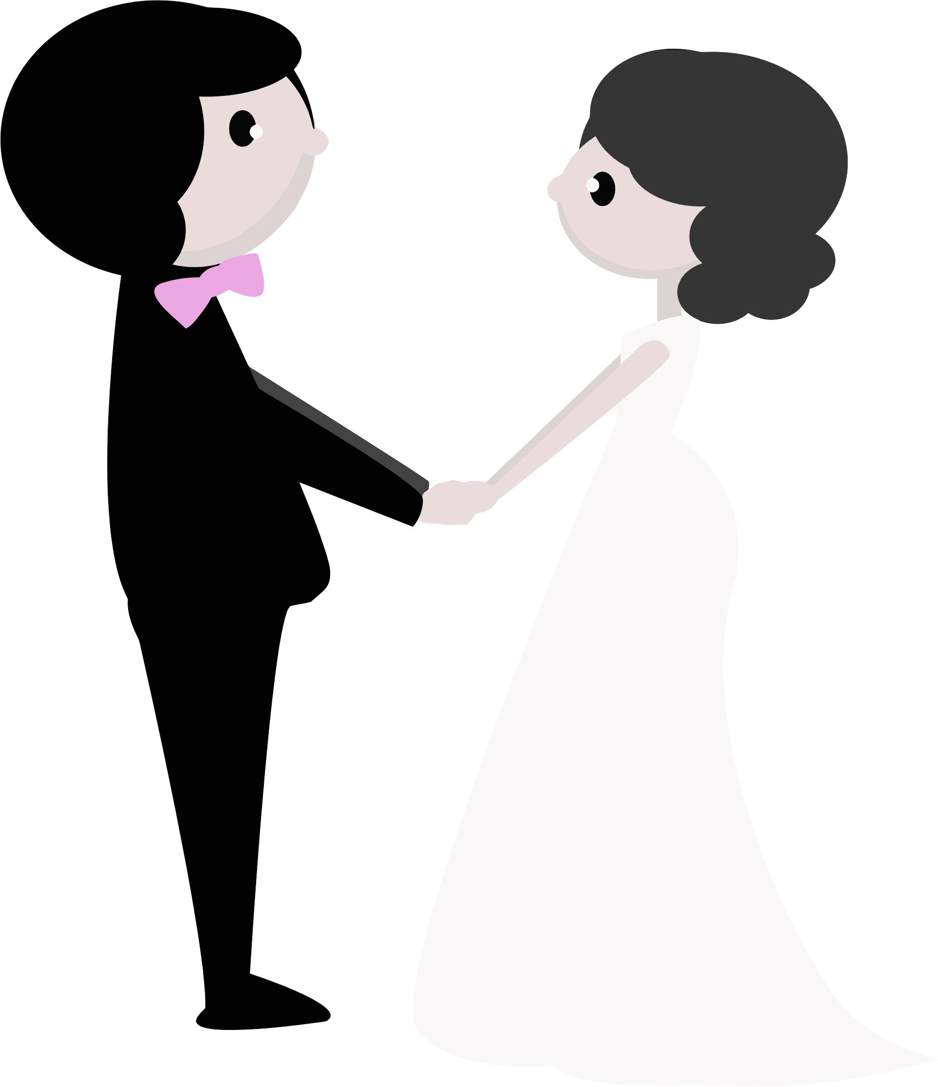 Clipart - Wedding Day No Background