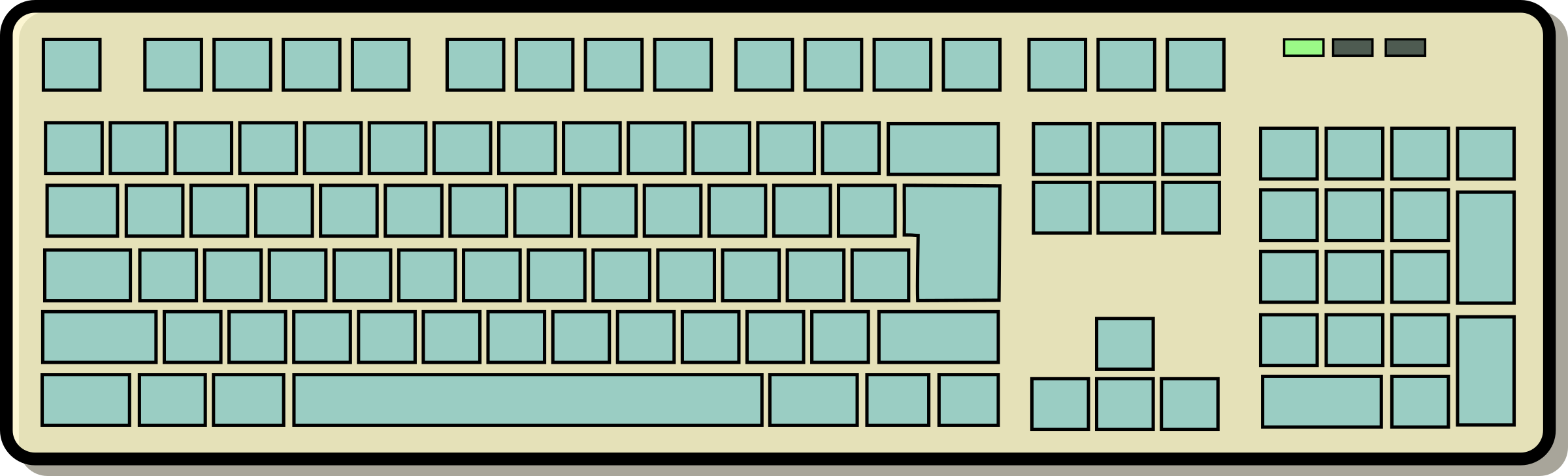 Keyboard by bdoin