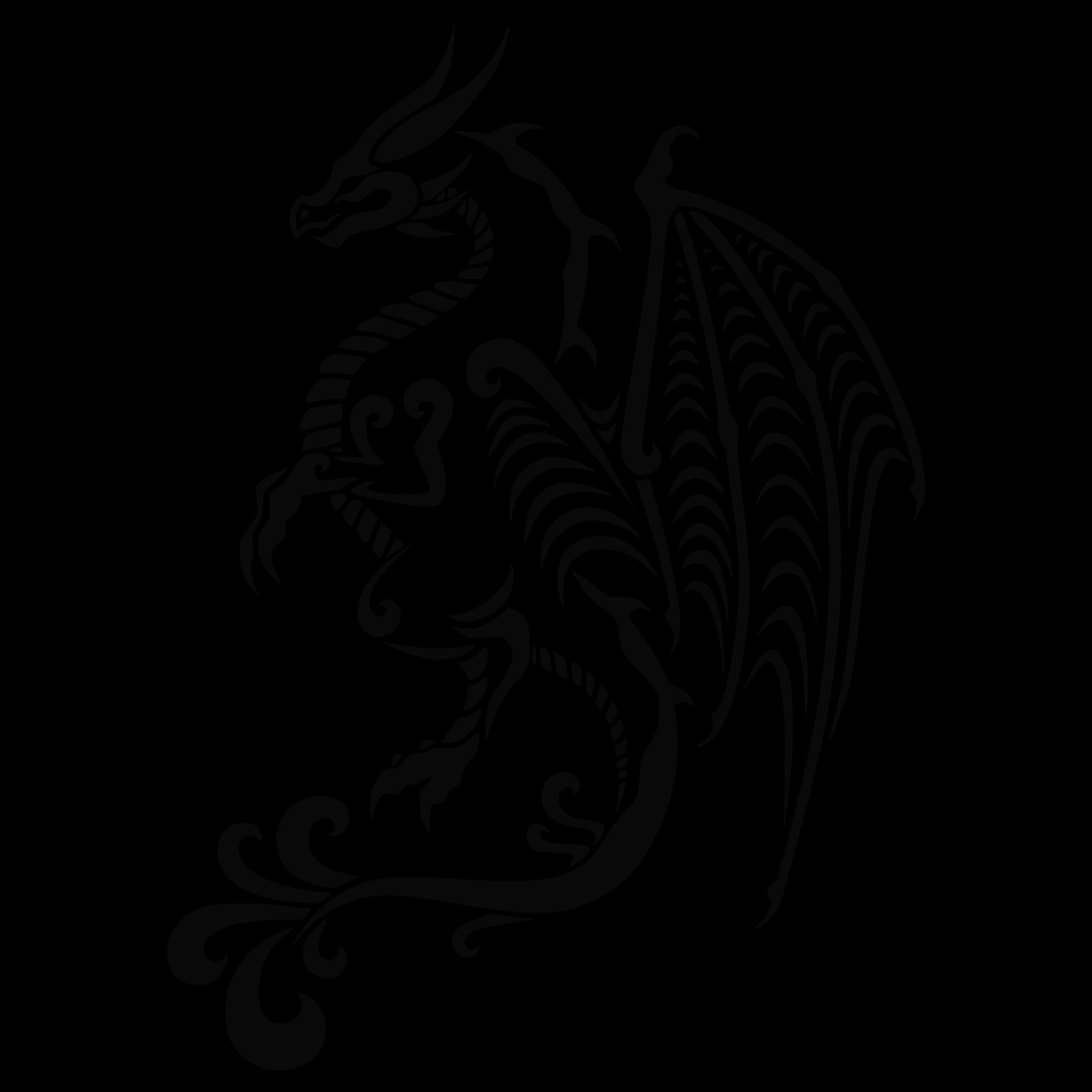 Dragon Tattoo Png: Dragon Tattoo