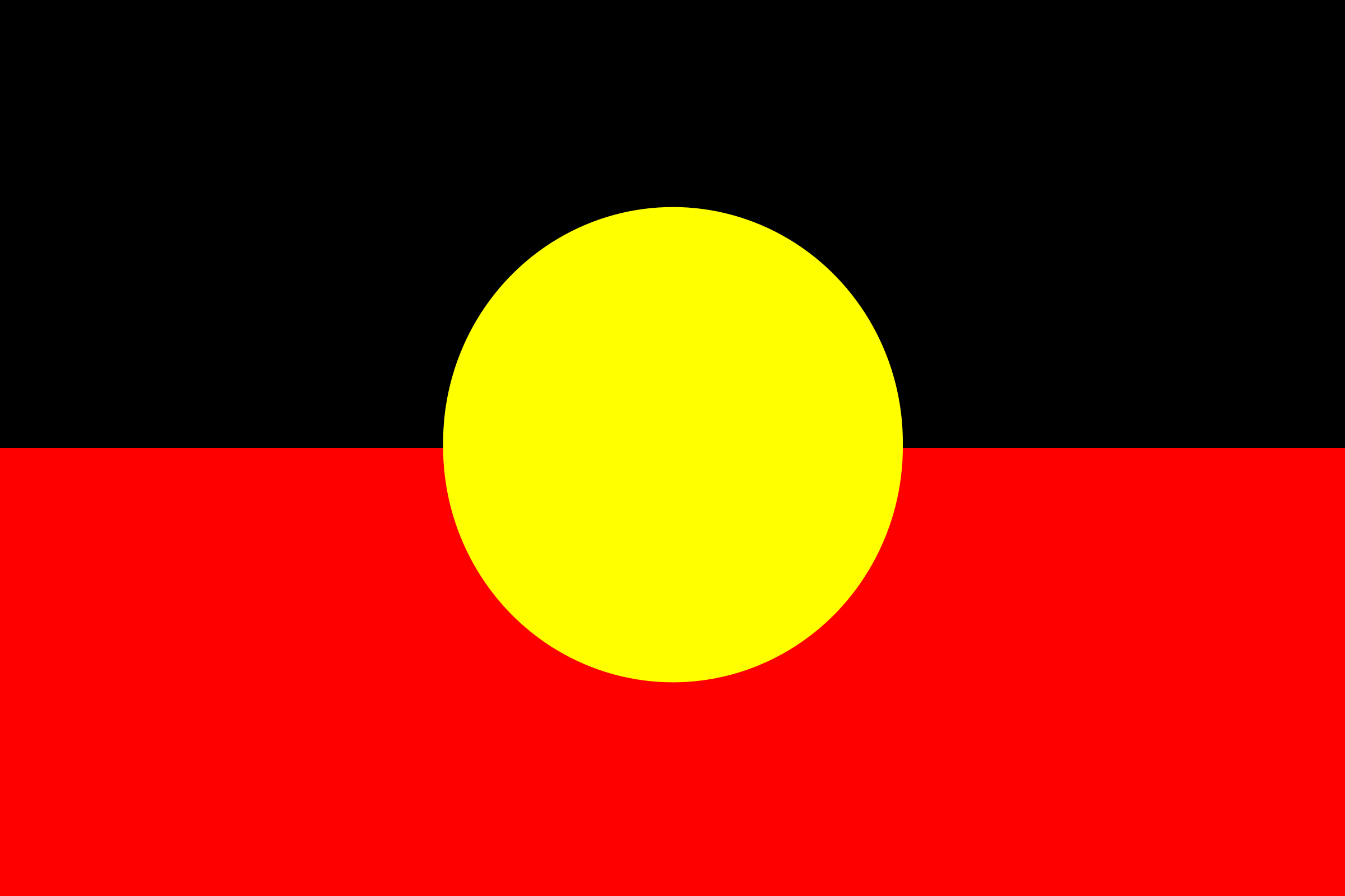 Flag of Australian Aborigines by eggplantpasta
