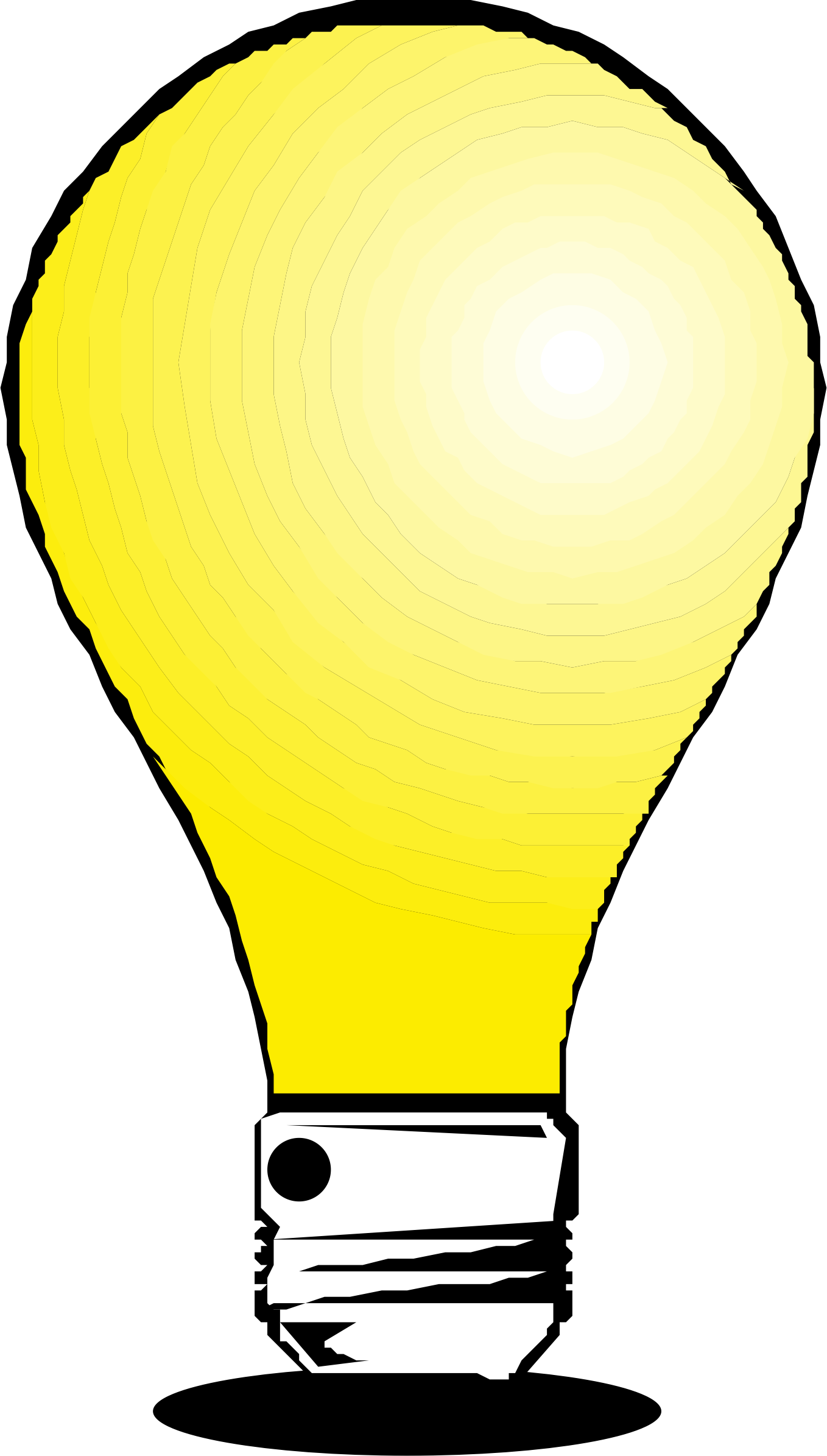 Light bulb by liftarn