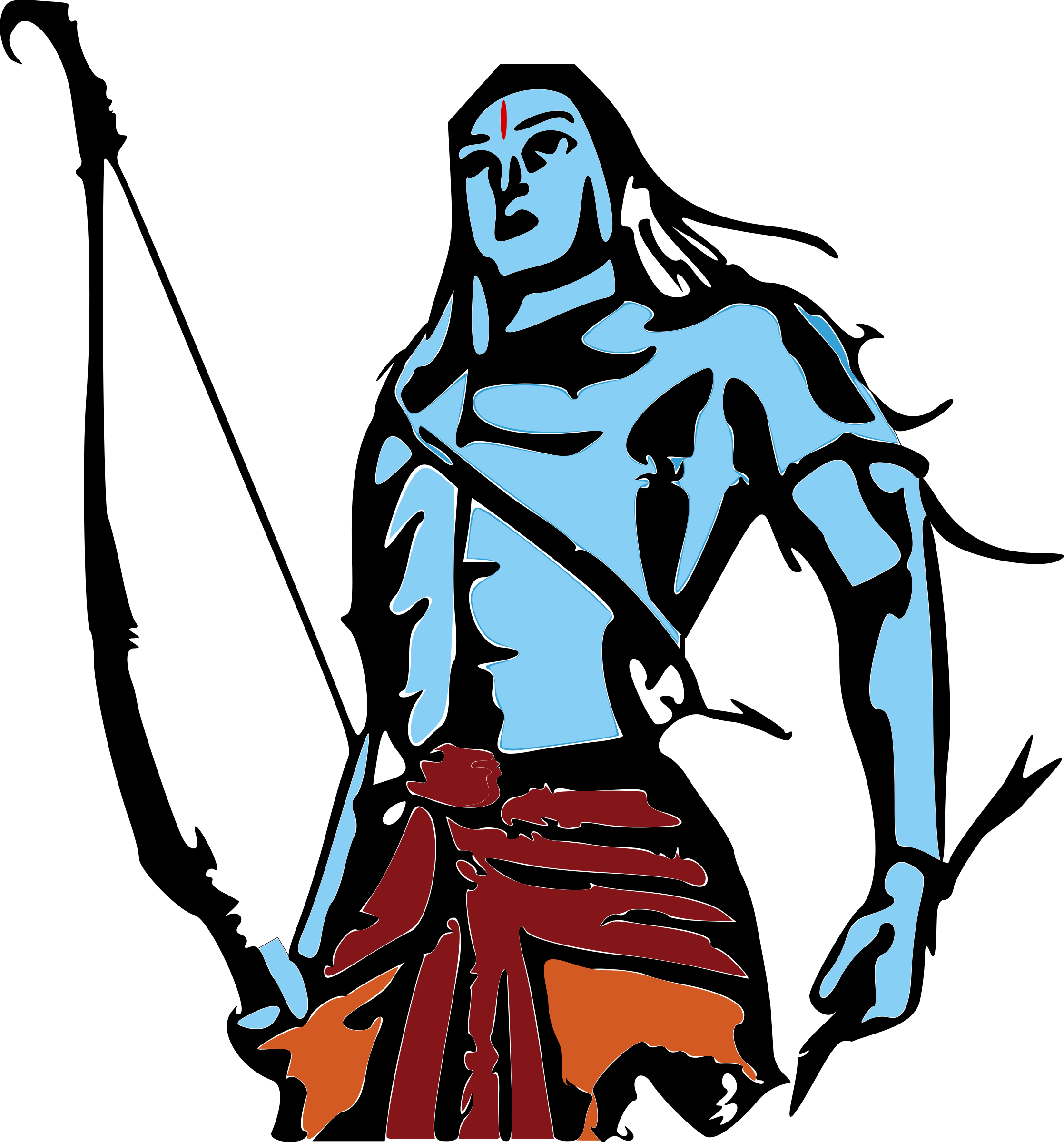 Lord Ram by Bharateey