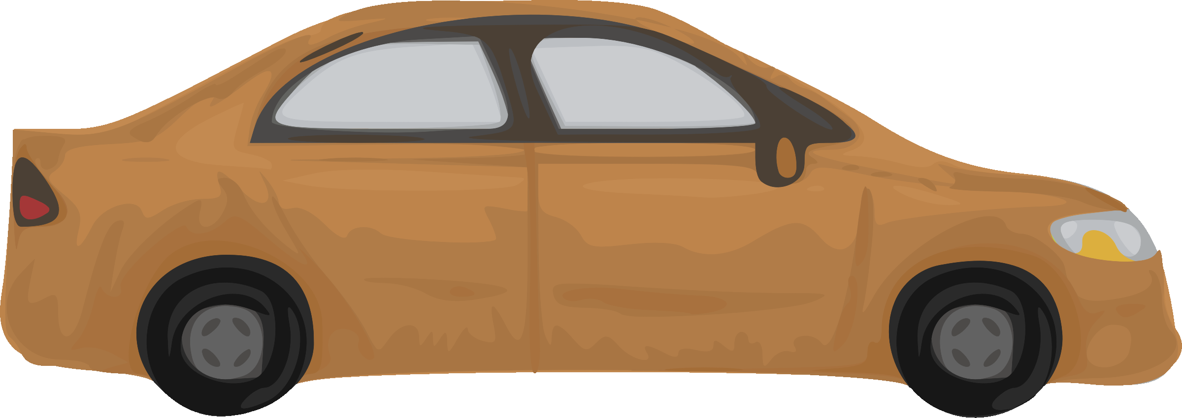 Rough car (brown) by Firkin