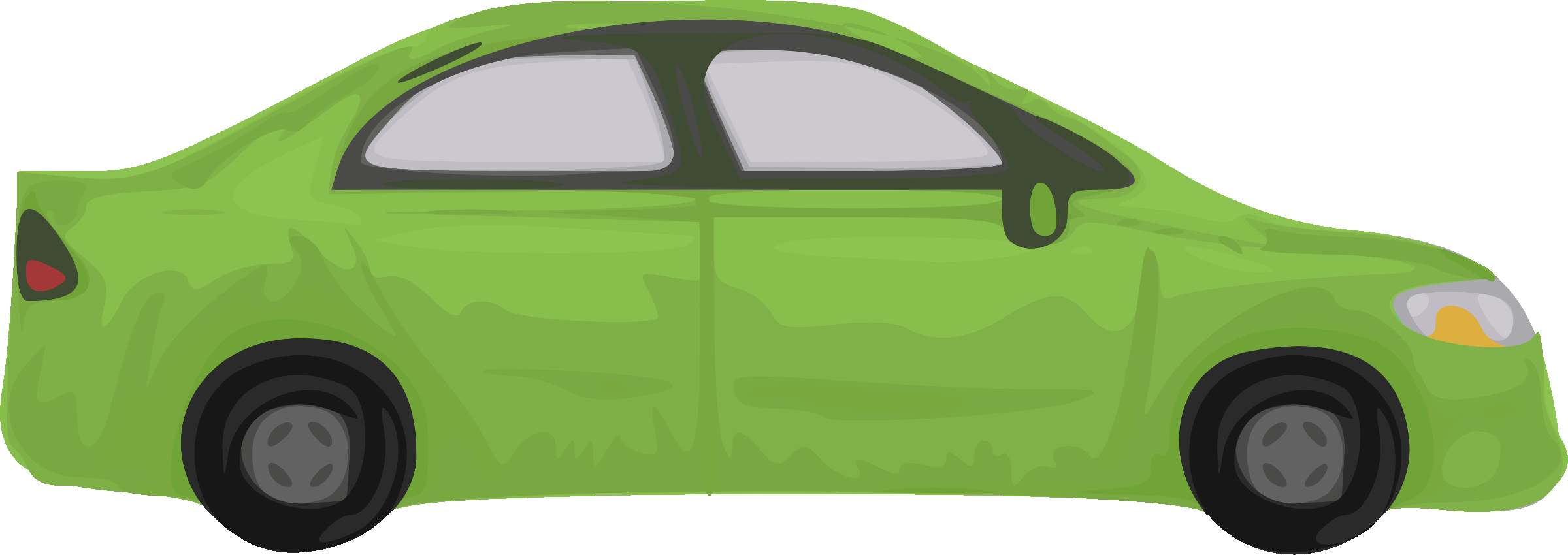 Rough car (green) by Firkin