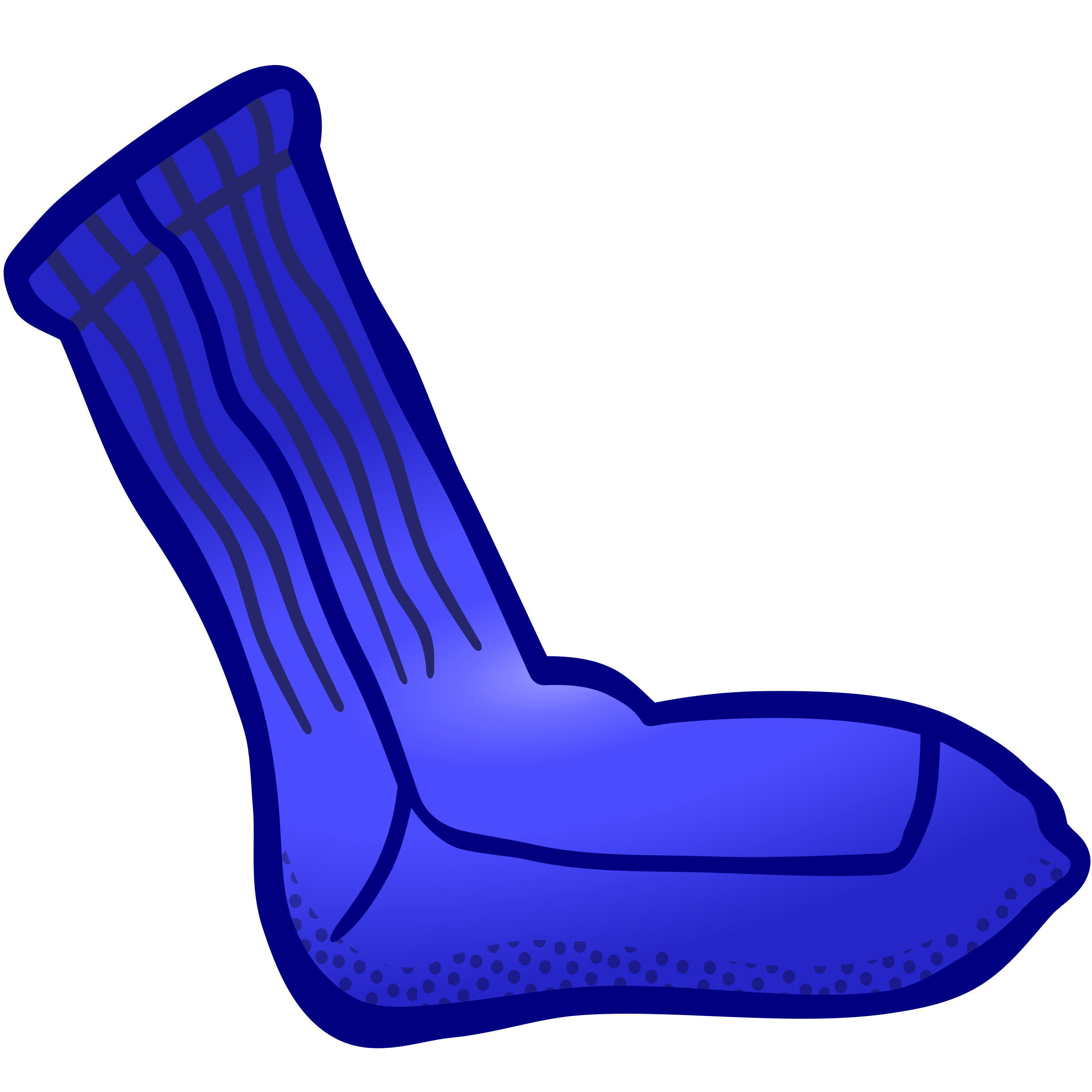 sock - coloured by frankes