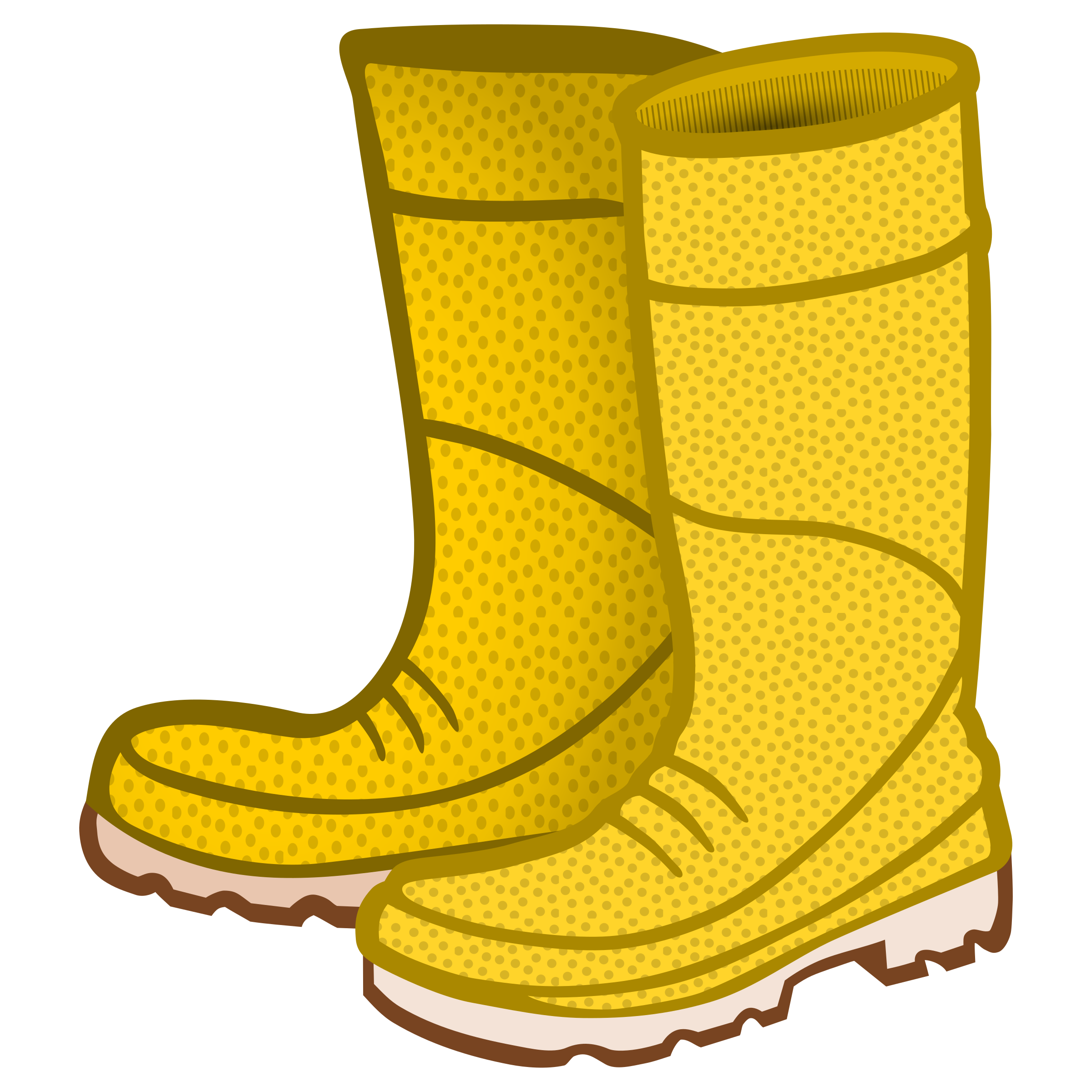 rubber boots - coloured by frankes