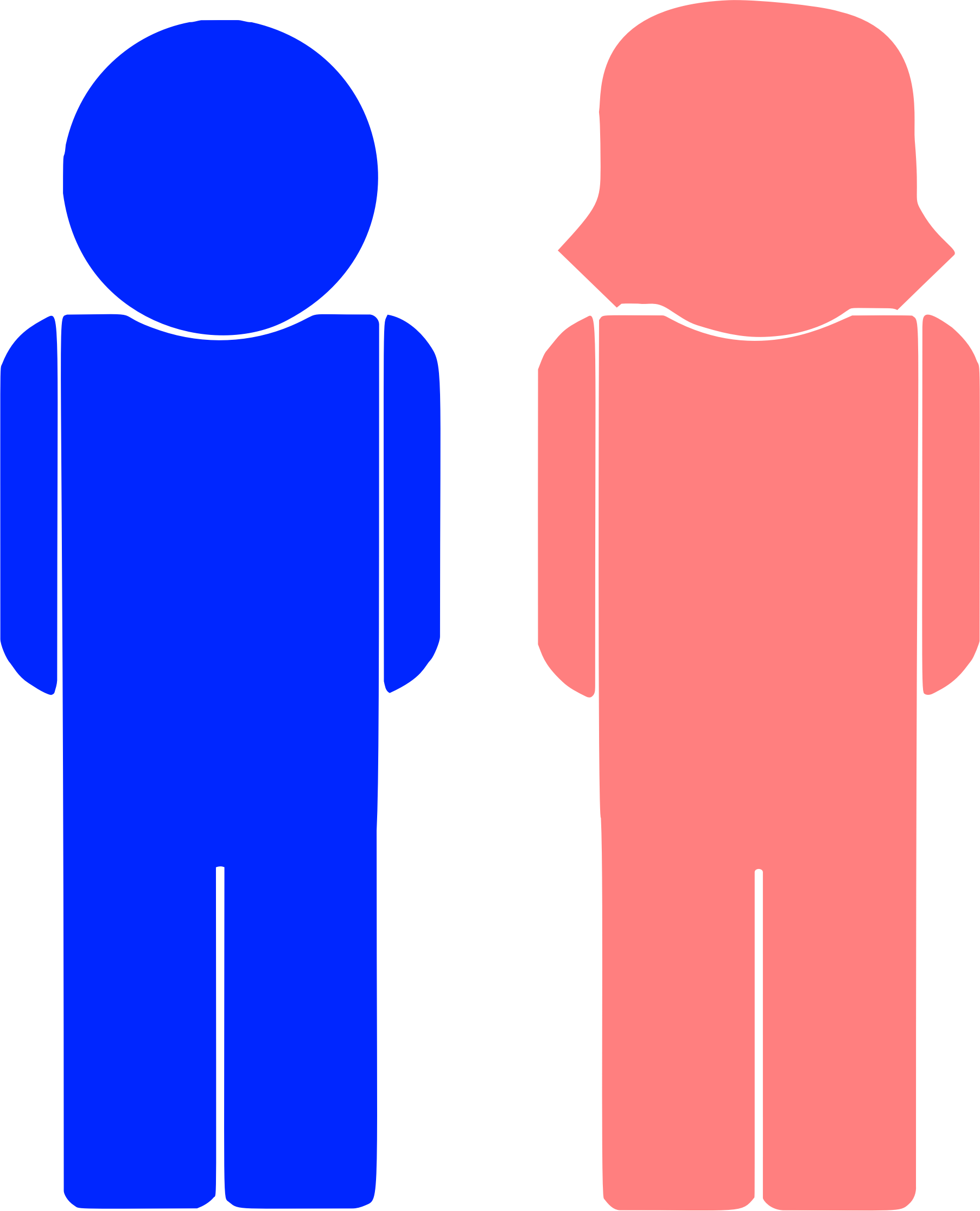 Male And Female Icons by GDJ