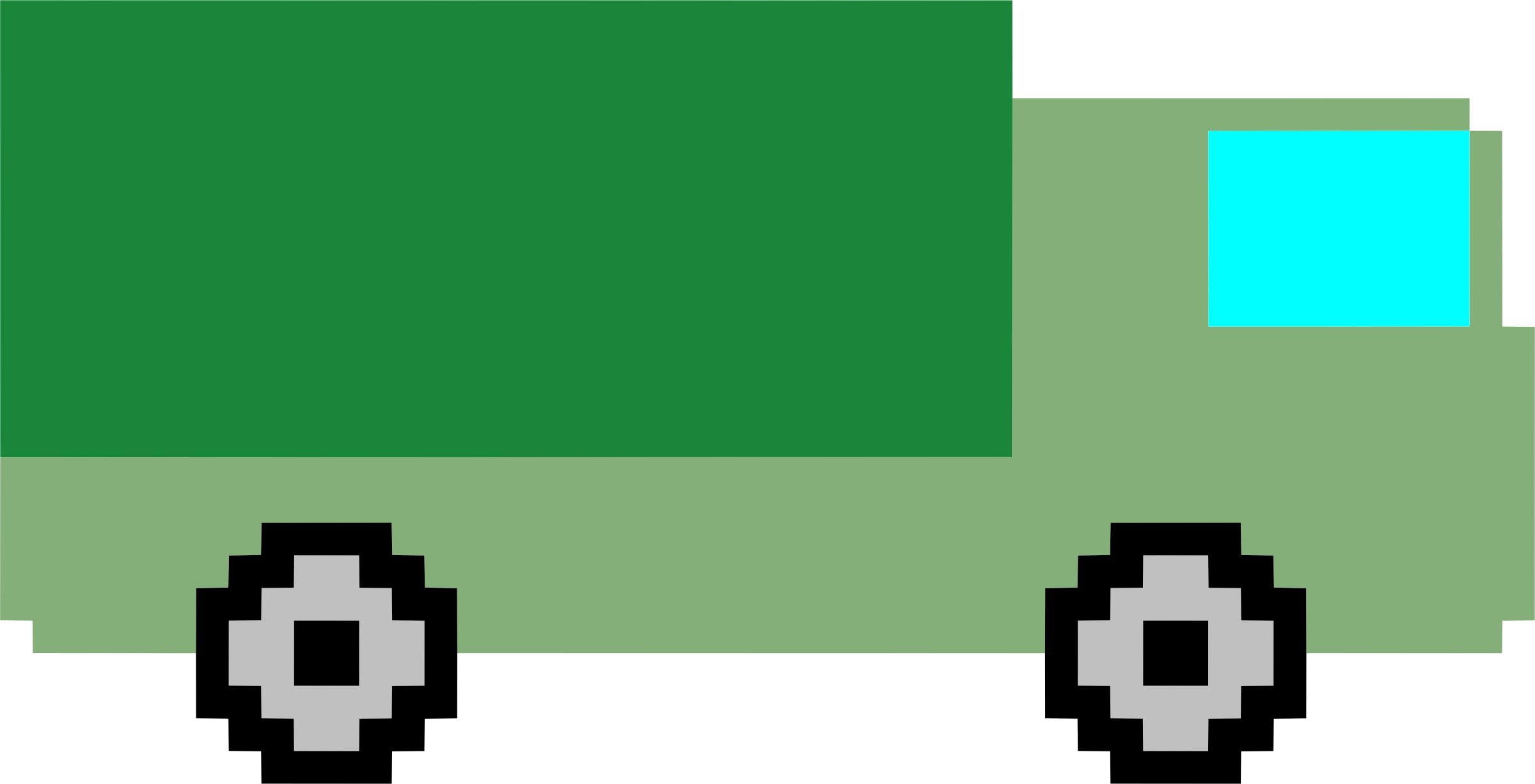 Pixel art truck by Firkin