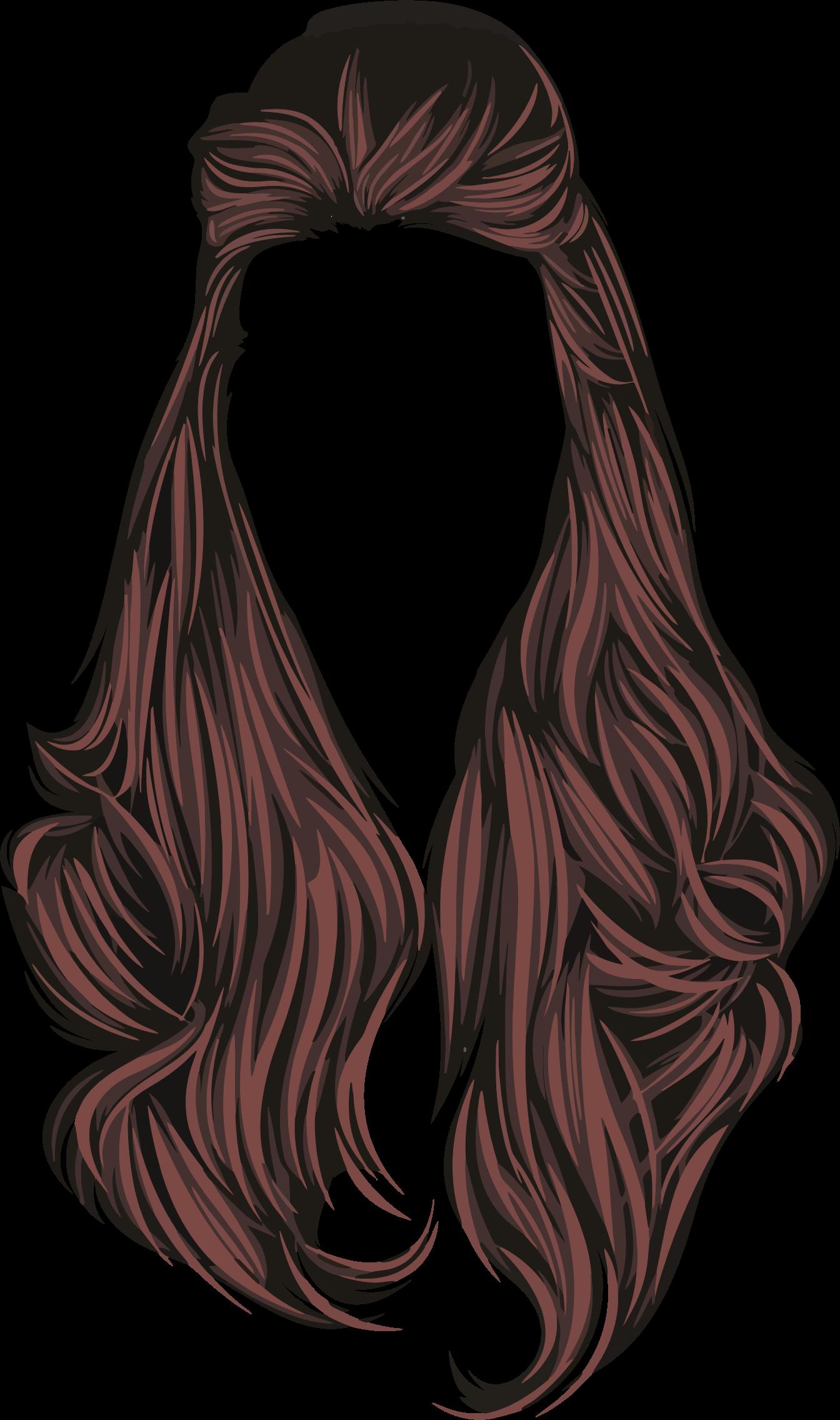 Clipart - Female Hair