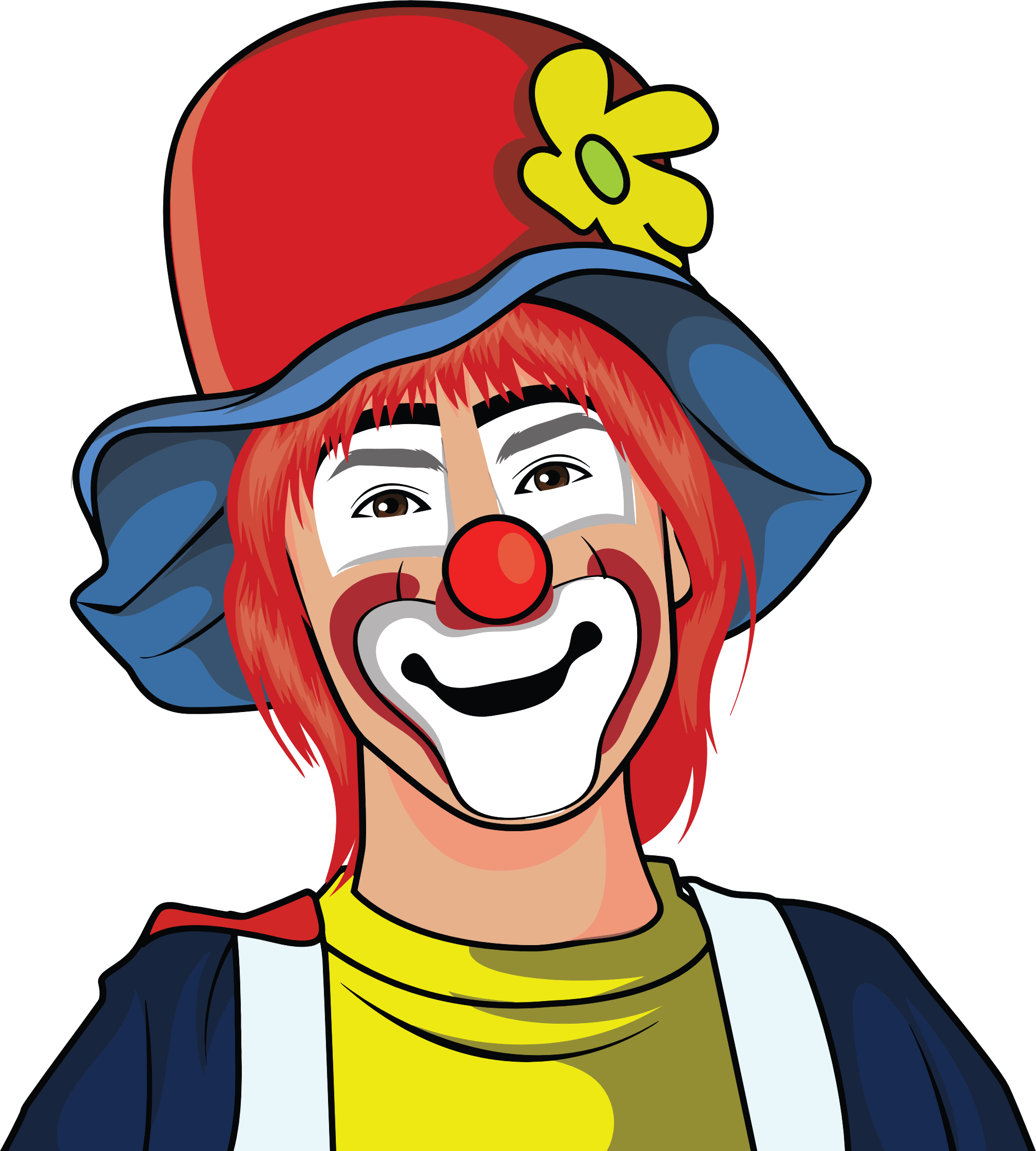 Clown Illustration by GDJ