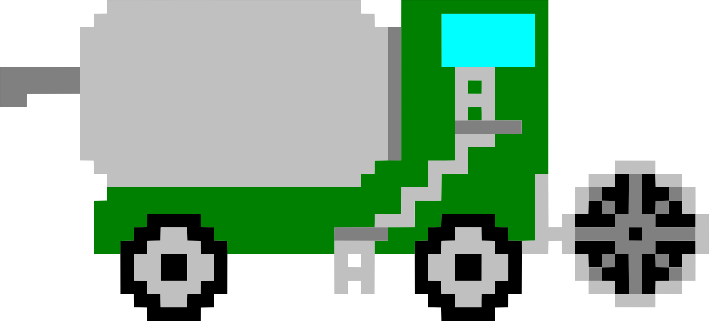 Pixel art harvester by Firkin