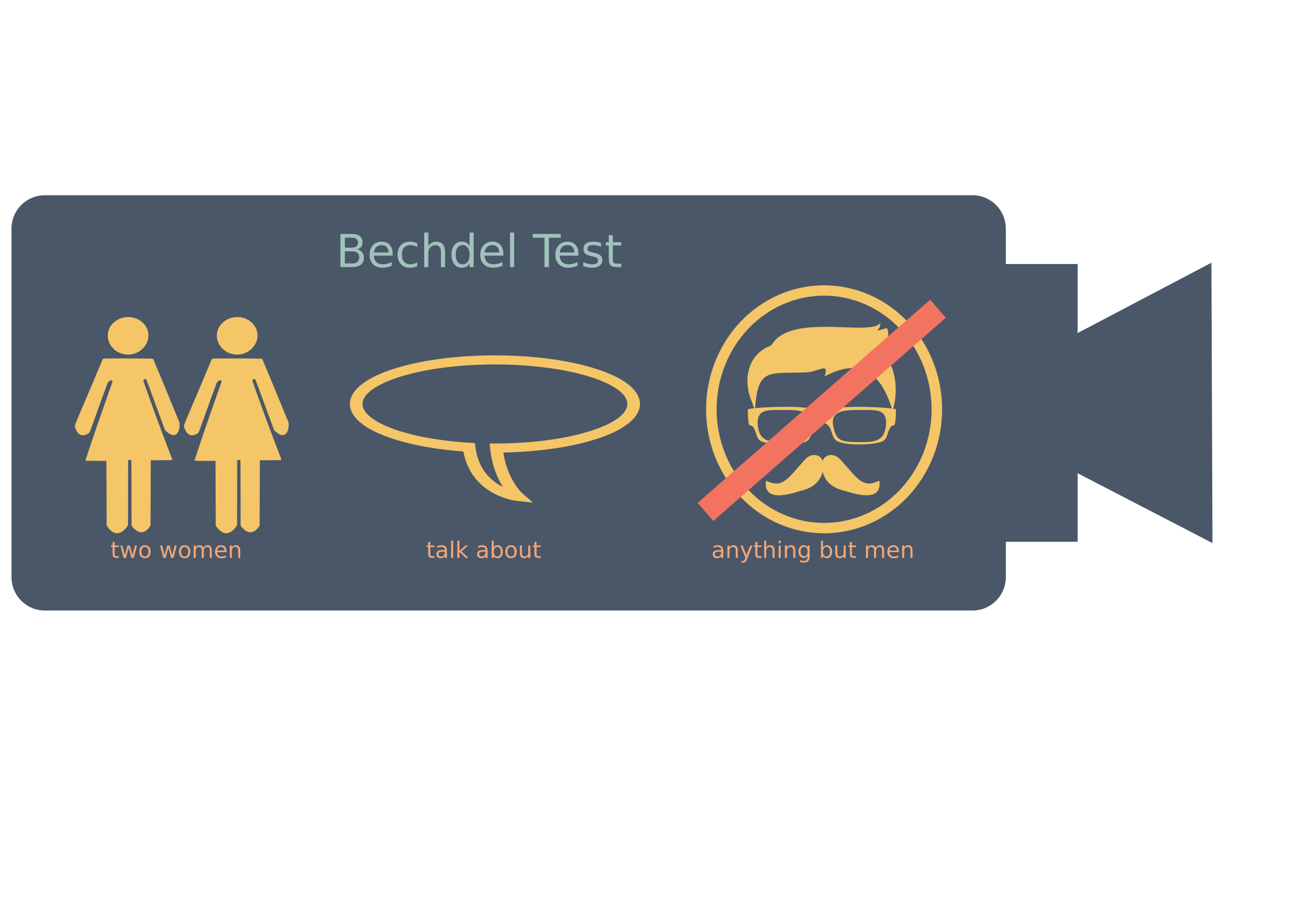 Bechdel Test by SrrReal