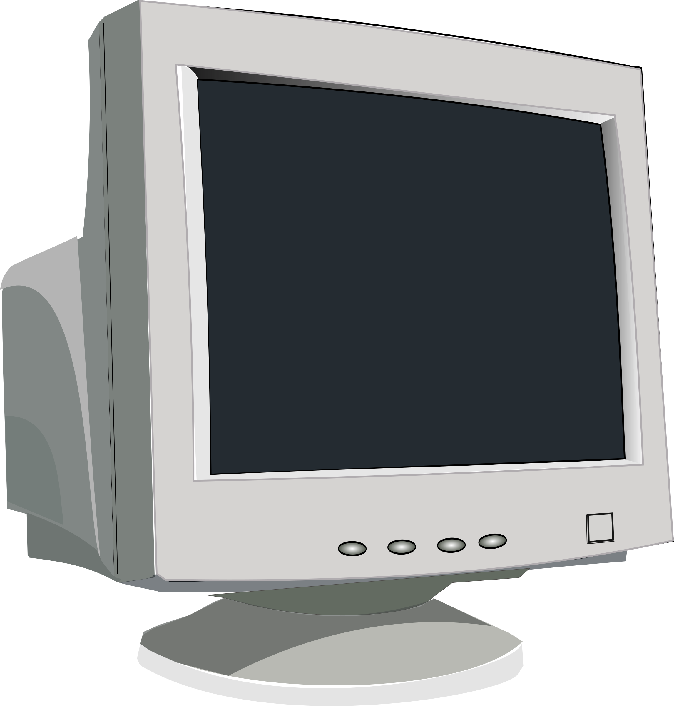 Old CRT Monitor by Anonymous