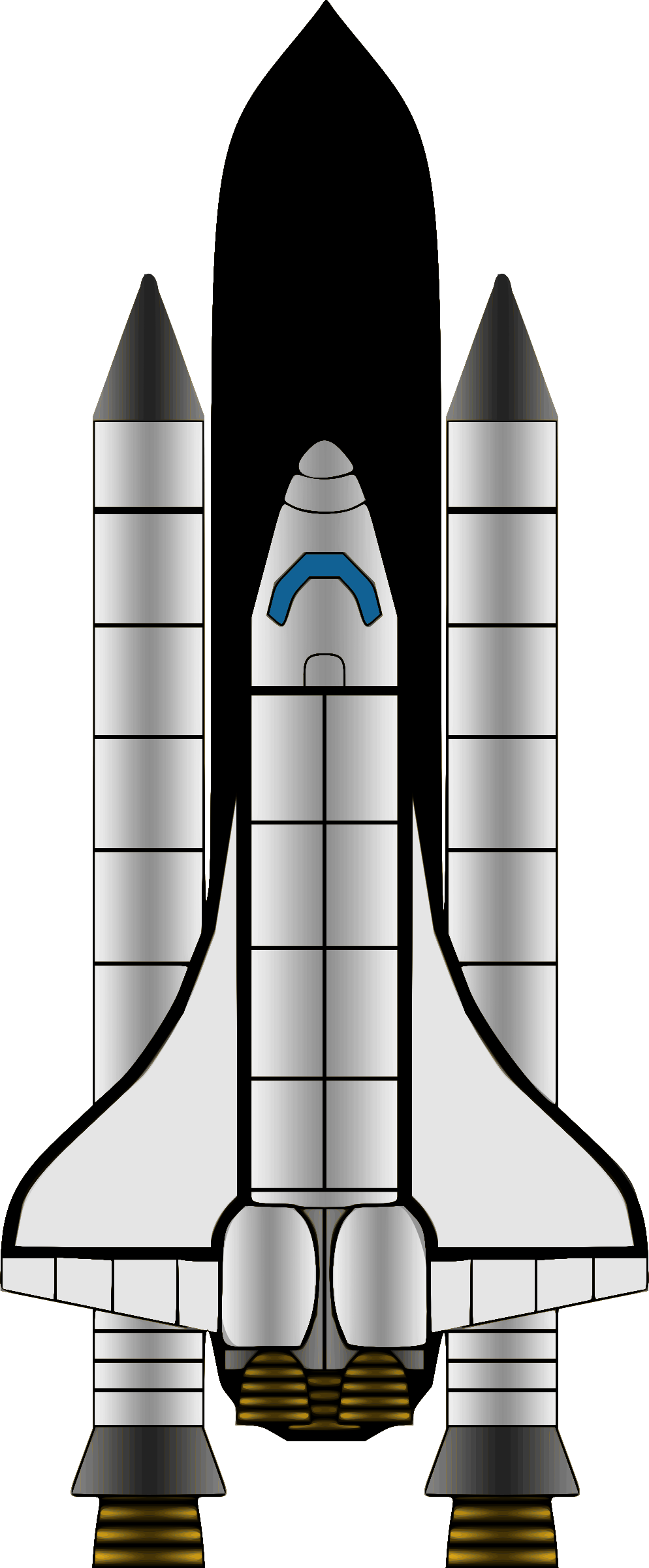 Space shuttle by Firkin