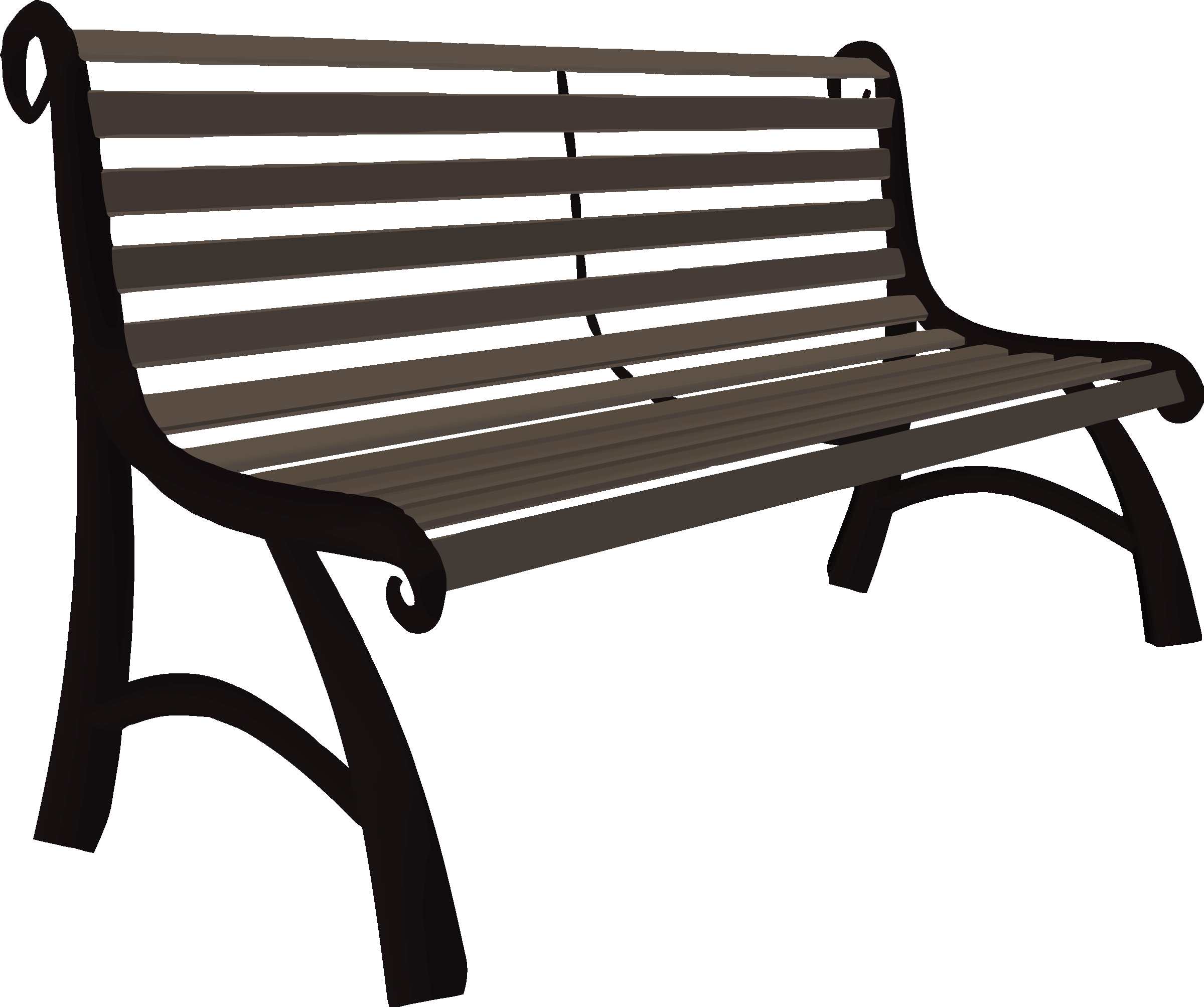 Park bench by Firkin