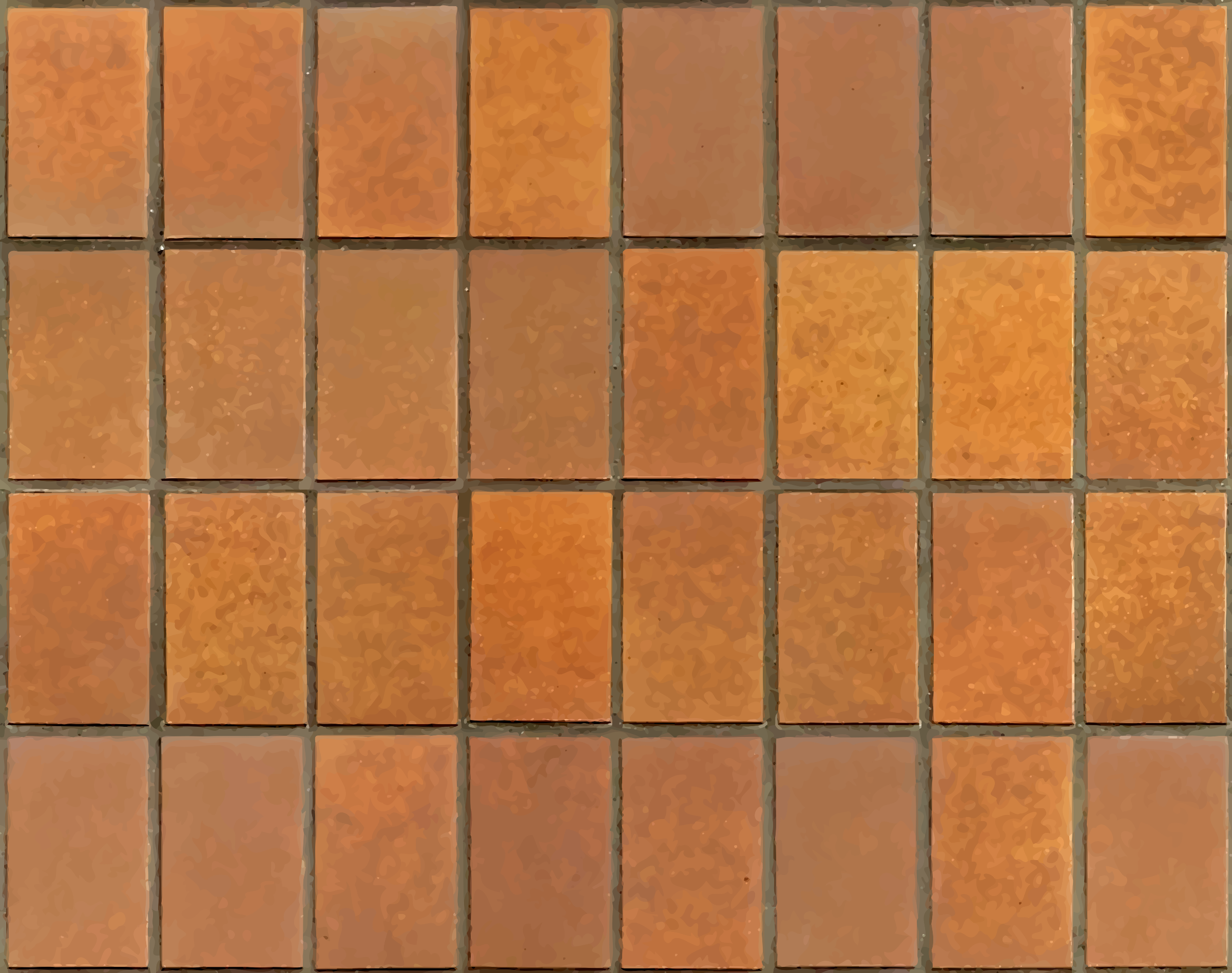 Brown tiles by Firkin