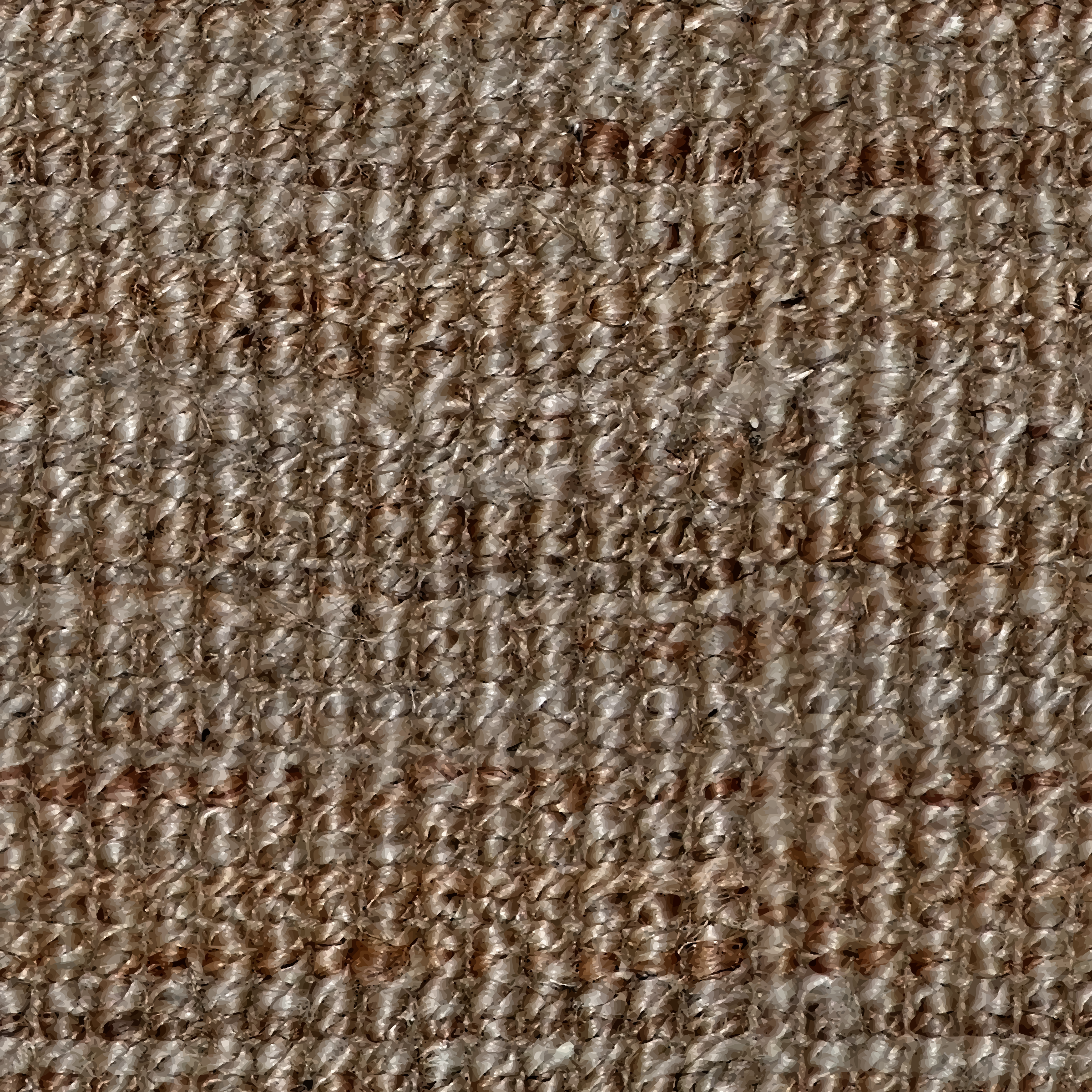 Wicker rug by Firkin
