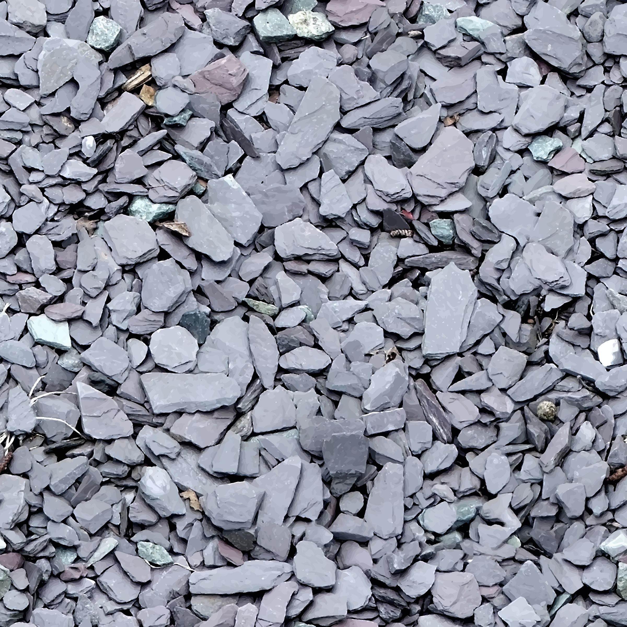 Slate chips by Firkin