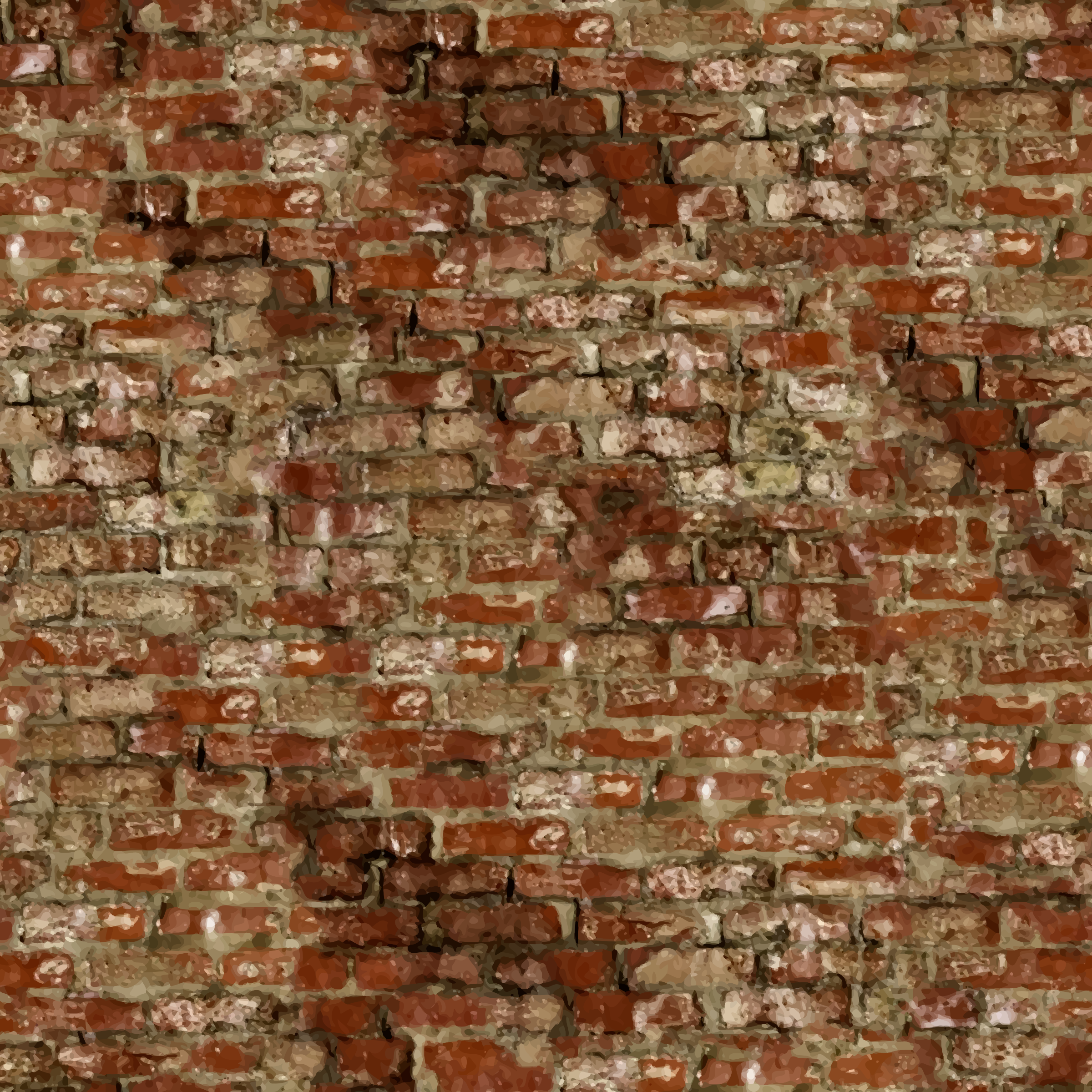 Old brick wall by Firkin