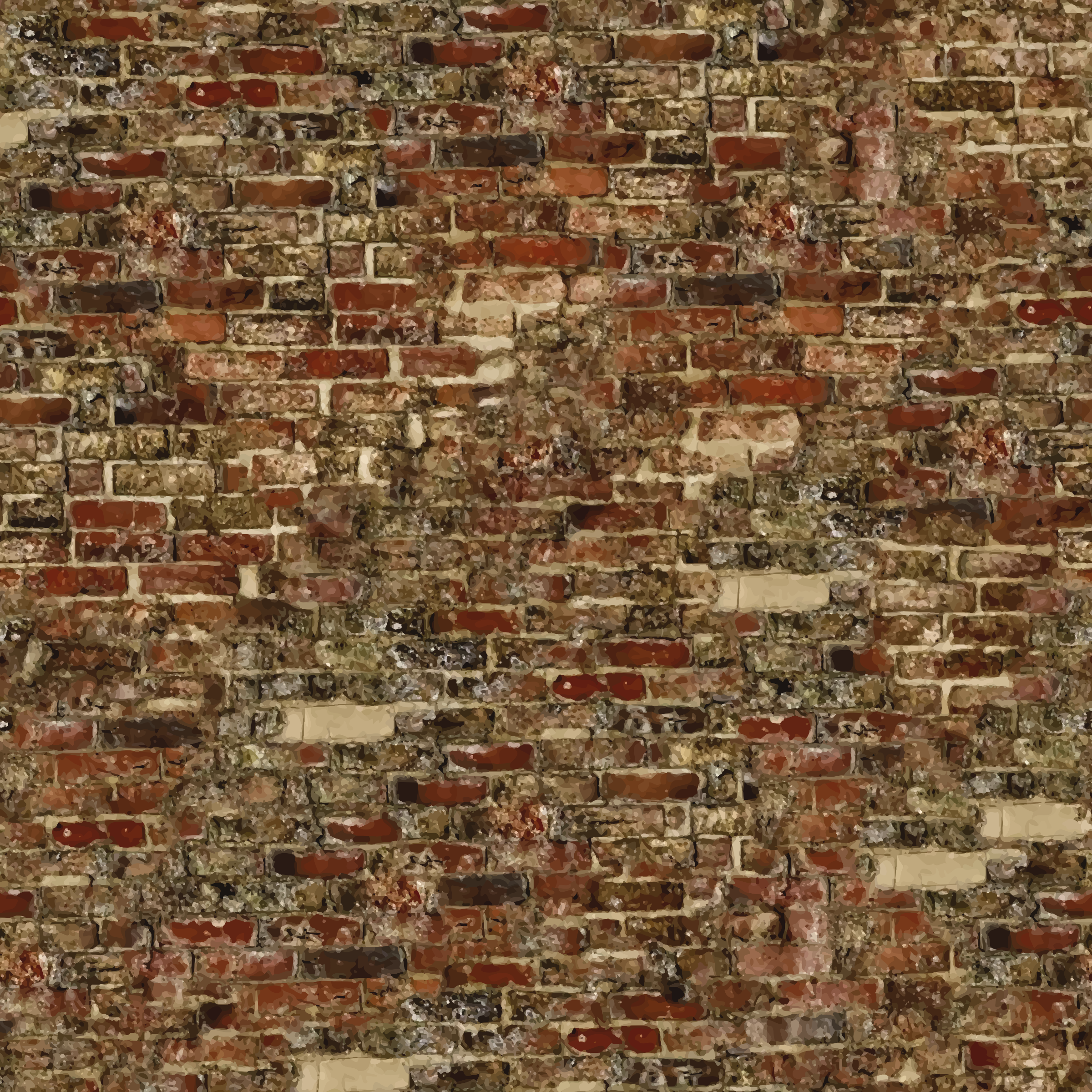 Old brick wall 2 by Firkin