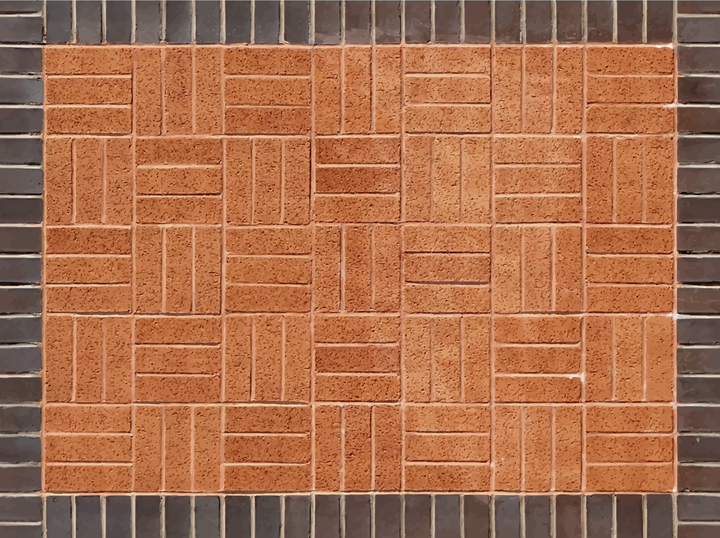 Brick pattern 2 by Firkin