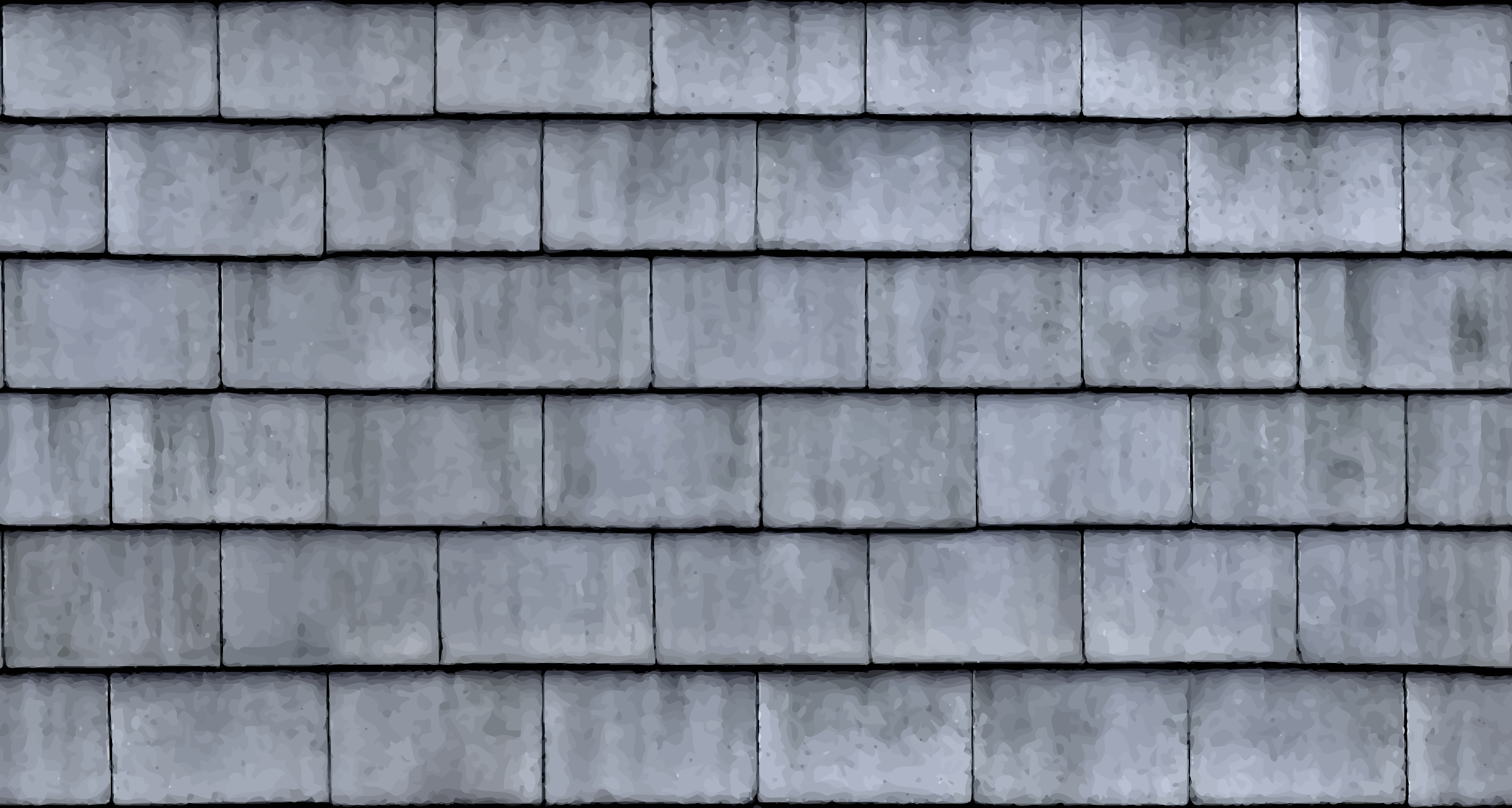 Clipart slate roof tiles 3 for Roof tile patterns
