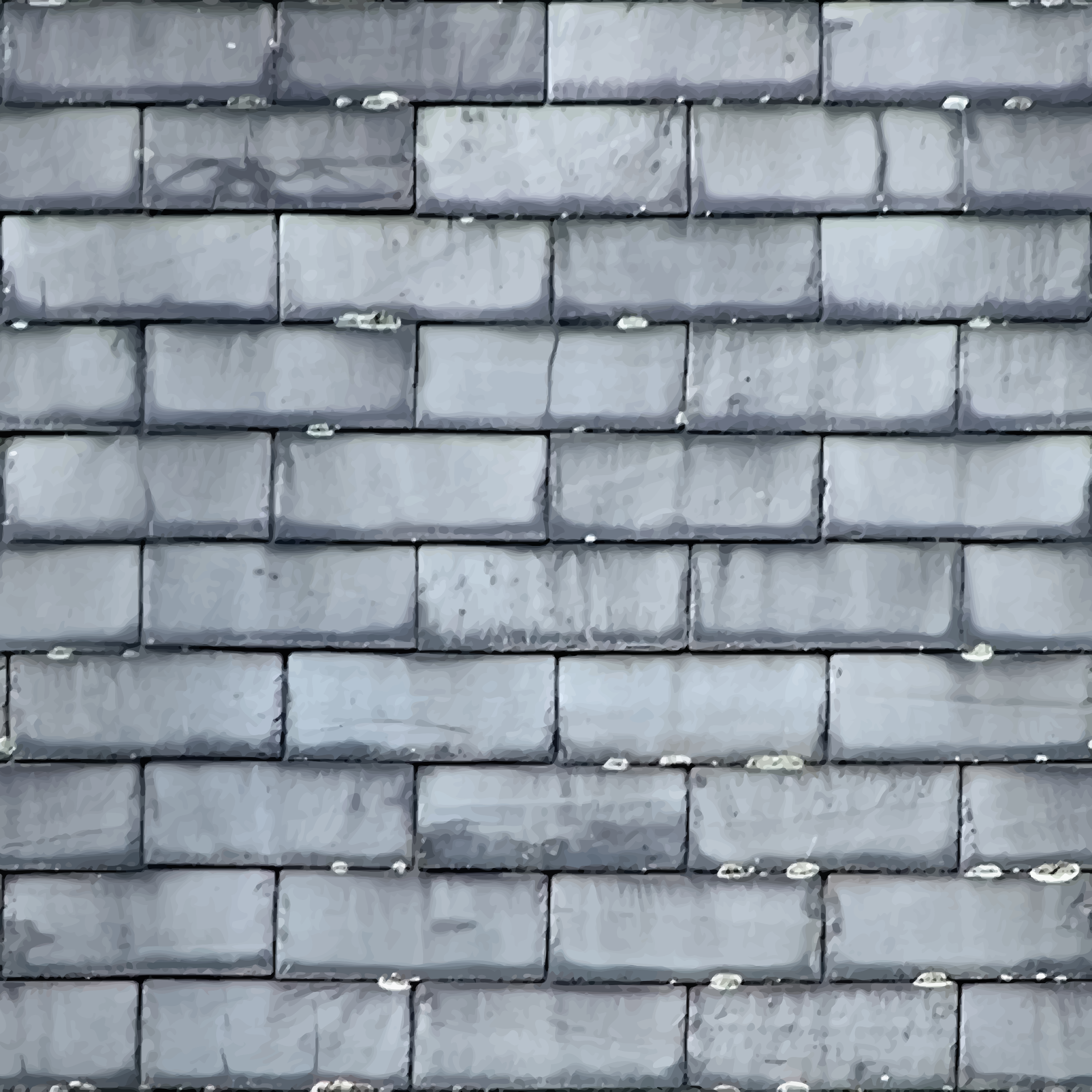 Roof slates 4 by Firkin