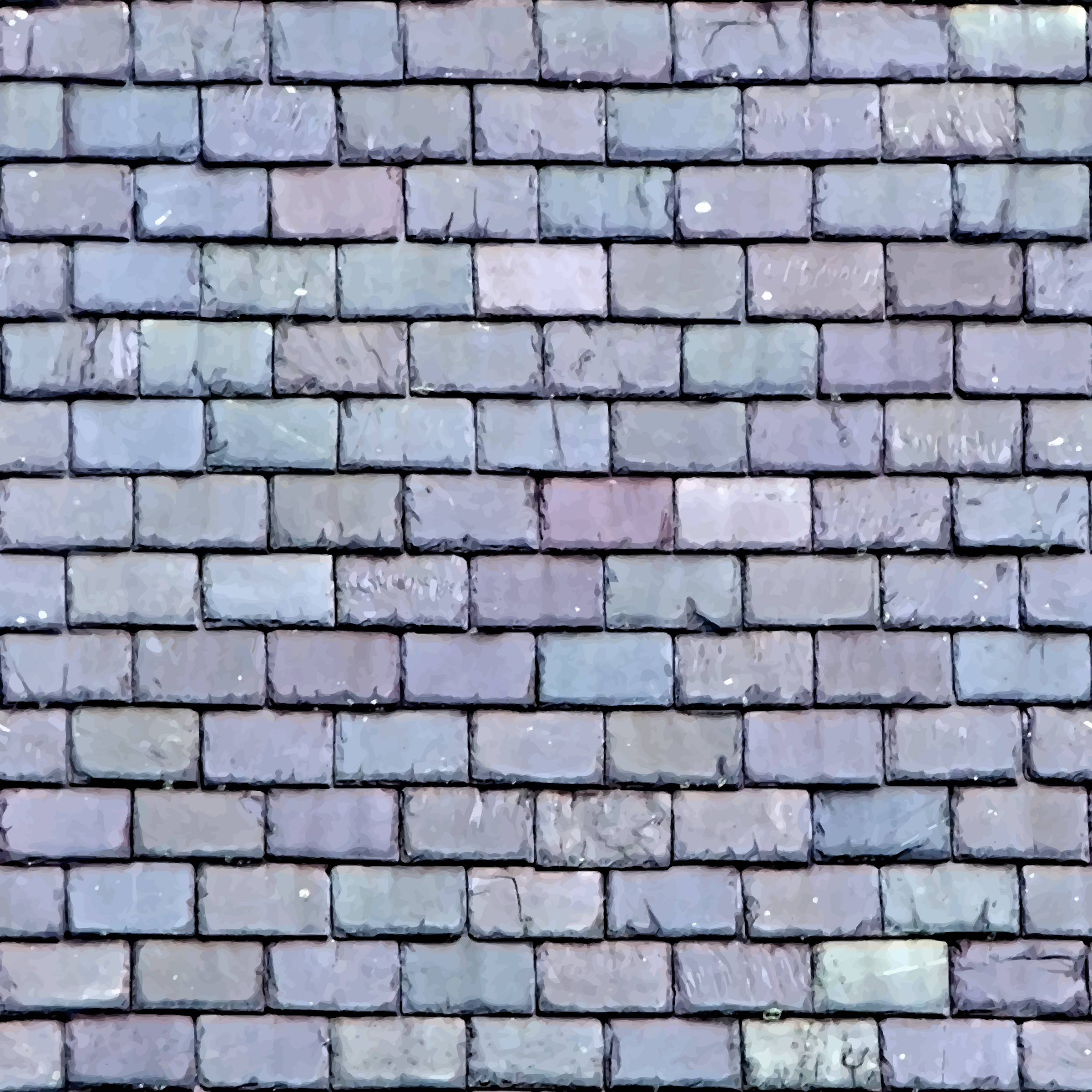 Roof slates 2 by Firkin