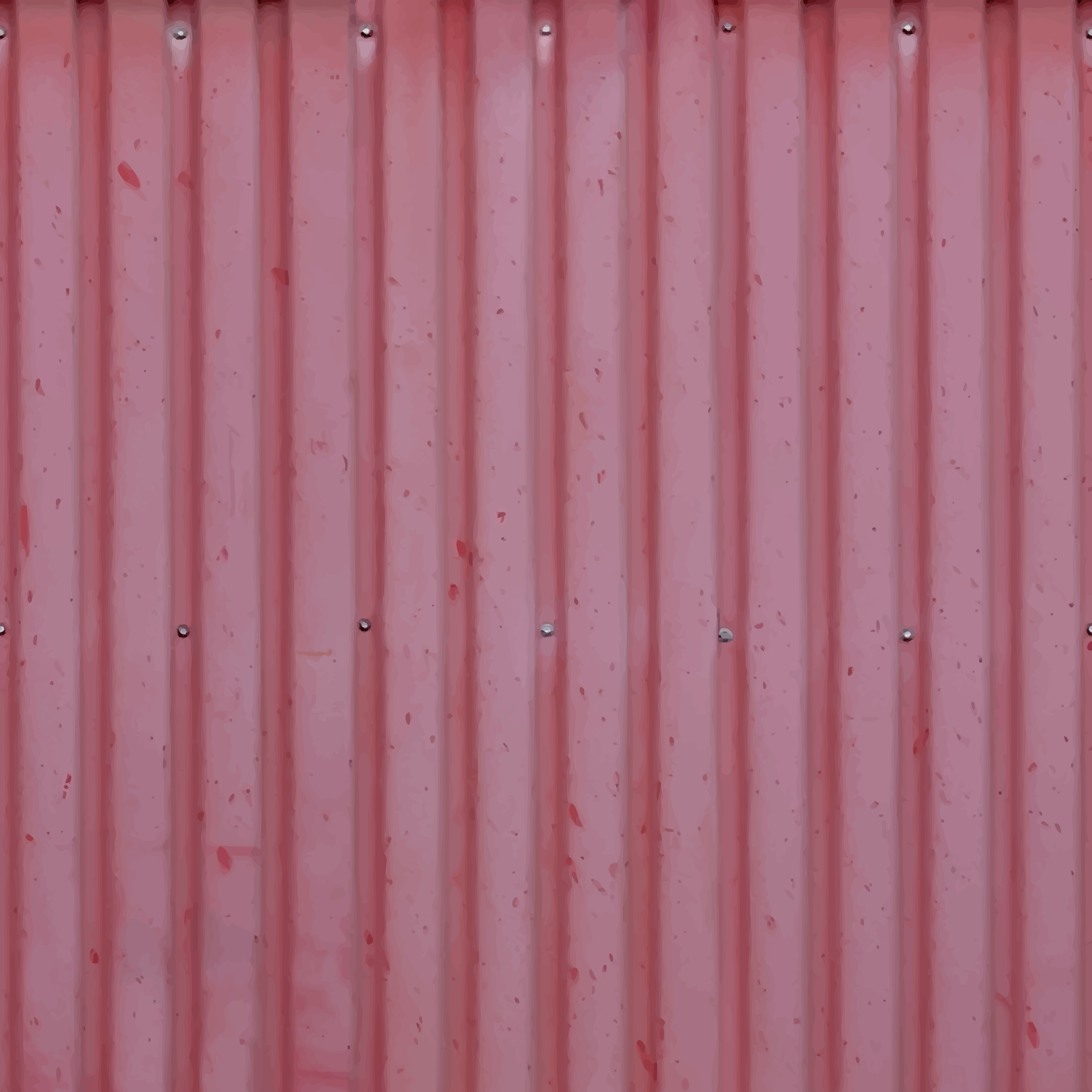 Corrugated iron by Firkin