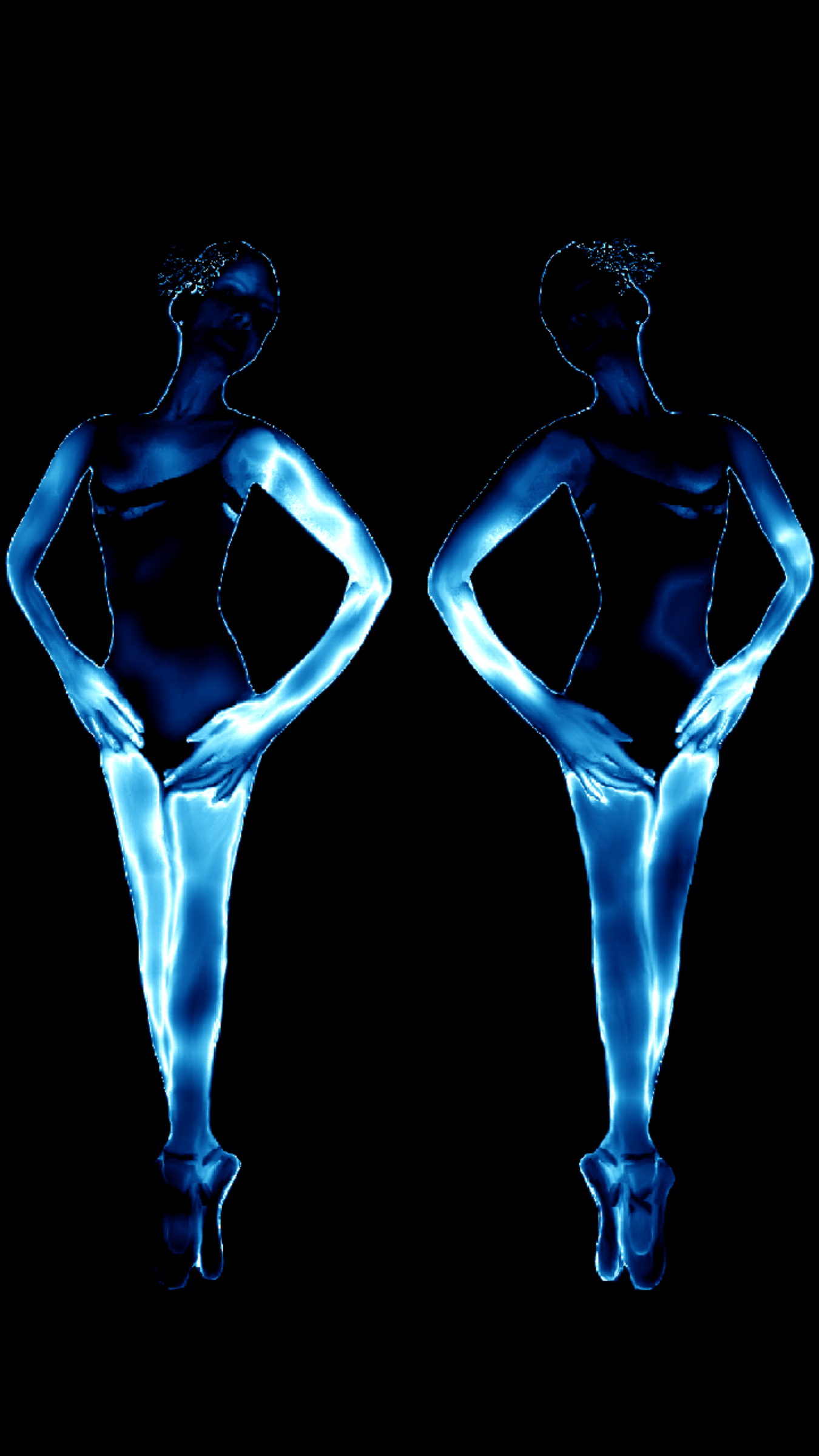 Blue Ballerinas Duet by Ariel-Arts