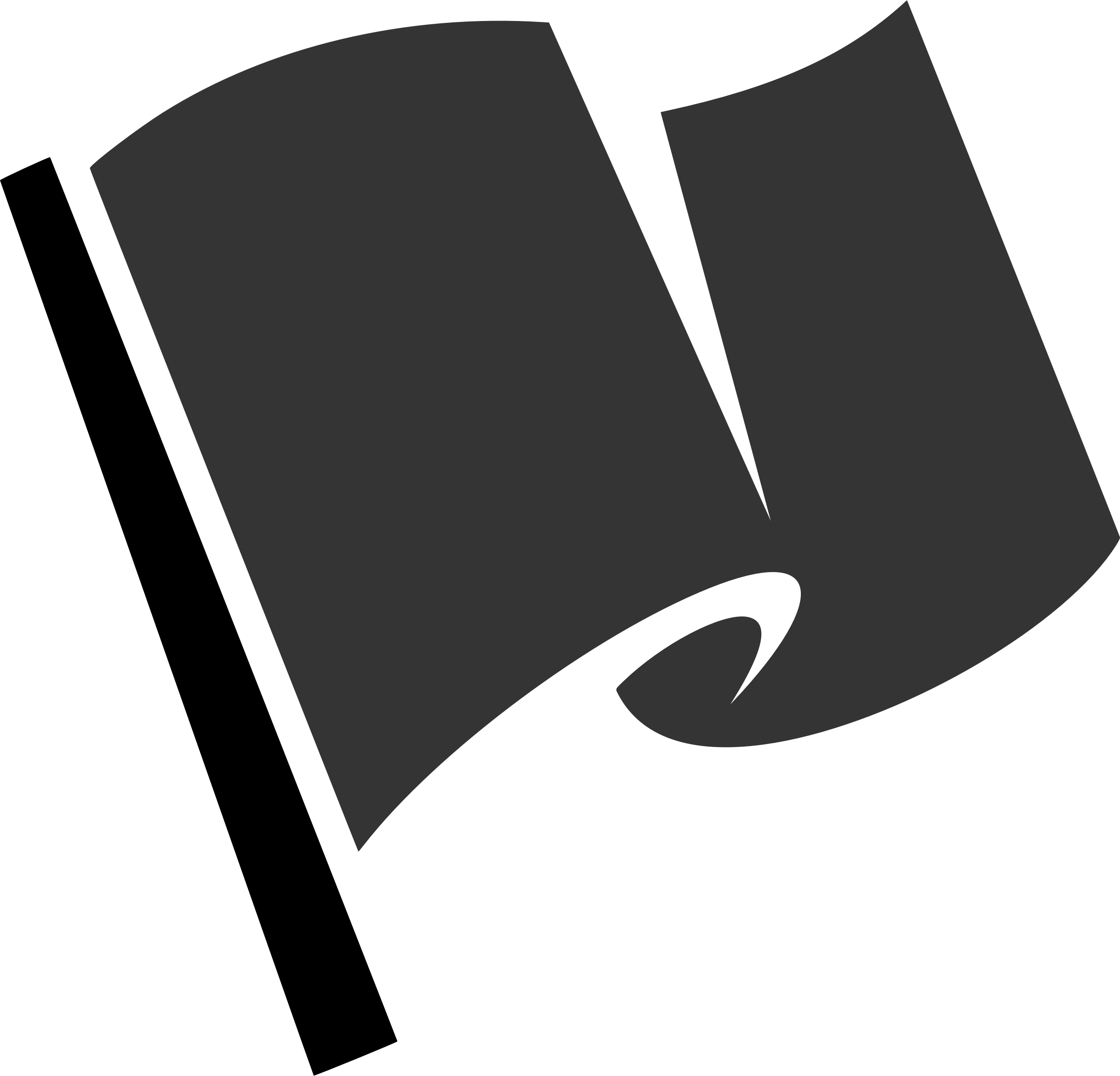Hirnlichtspiele's black flag vectorized  by Firkin