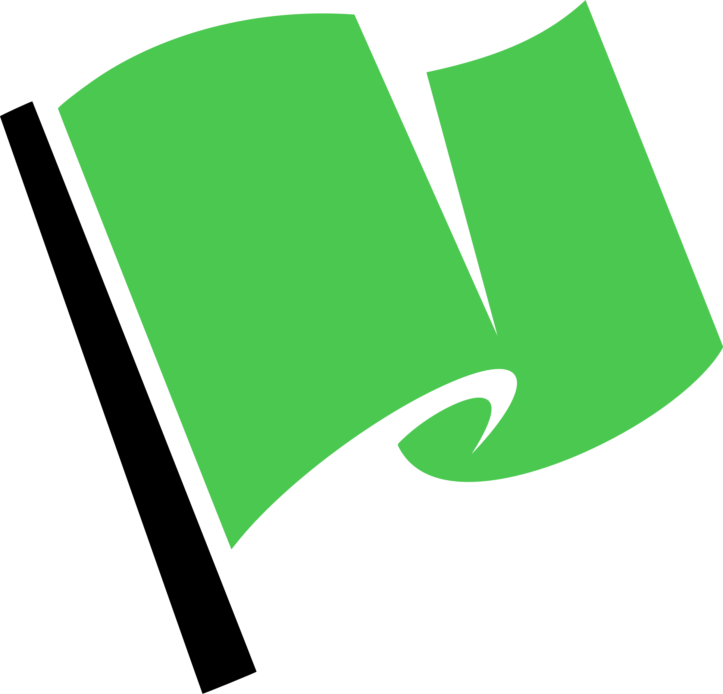 Hirnlichtspiele's green flag vectorized by Firkin