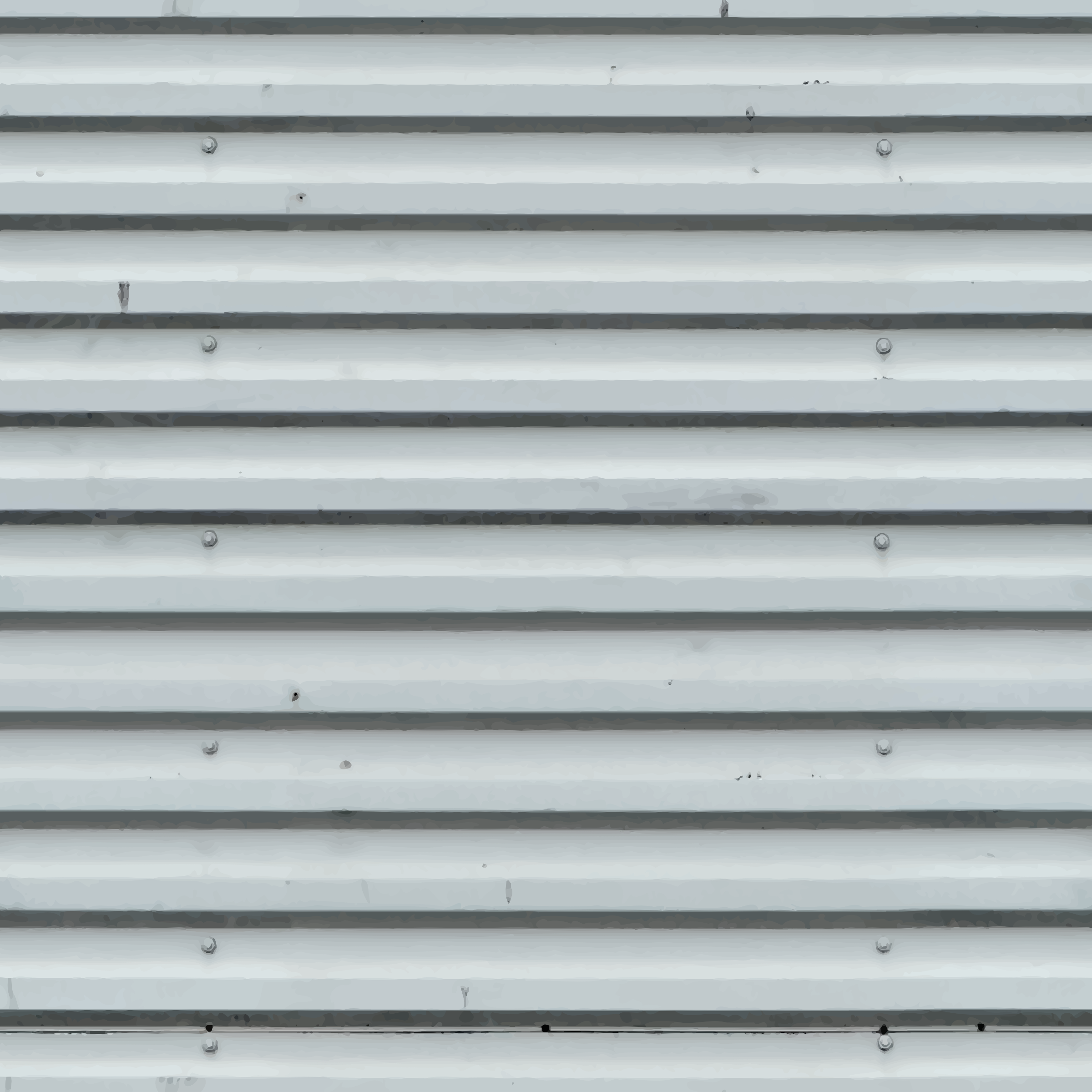 Corrugated metal 10 by Firkin