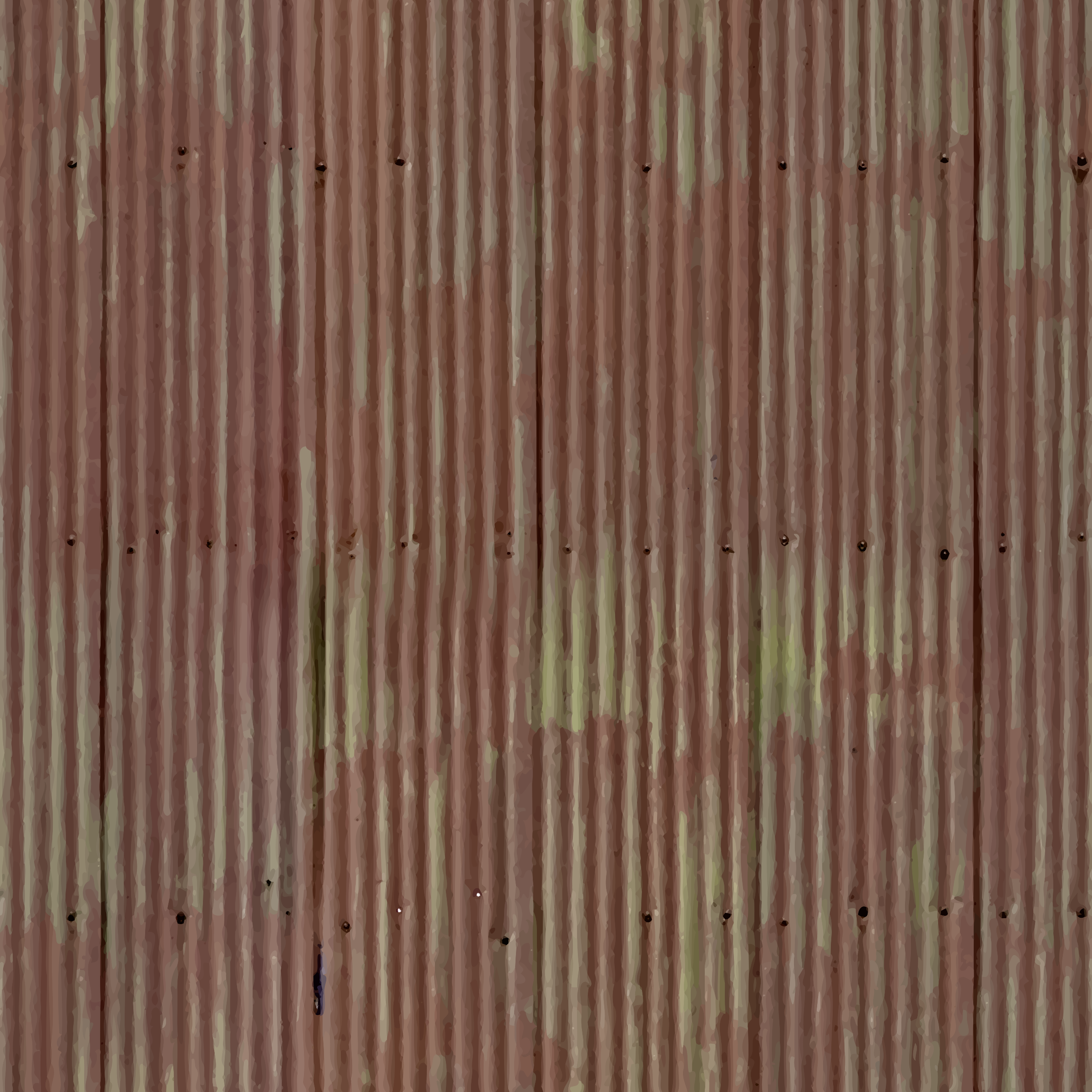 Corrugated metal 12 by Firkin