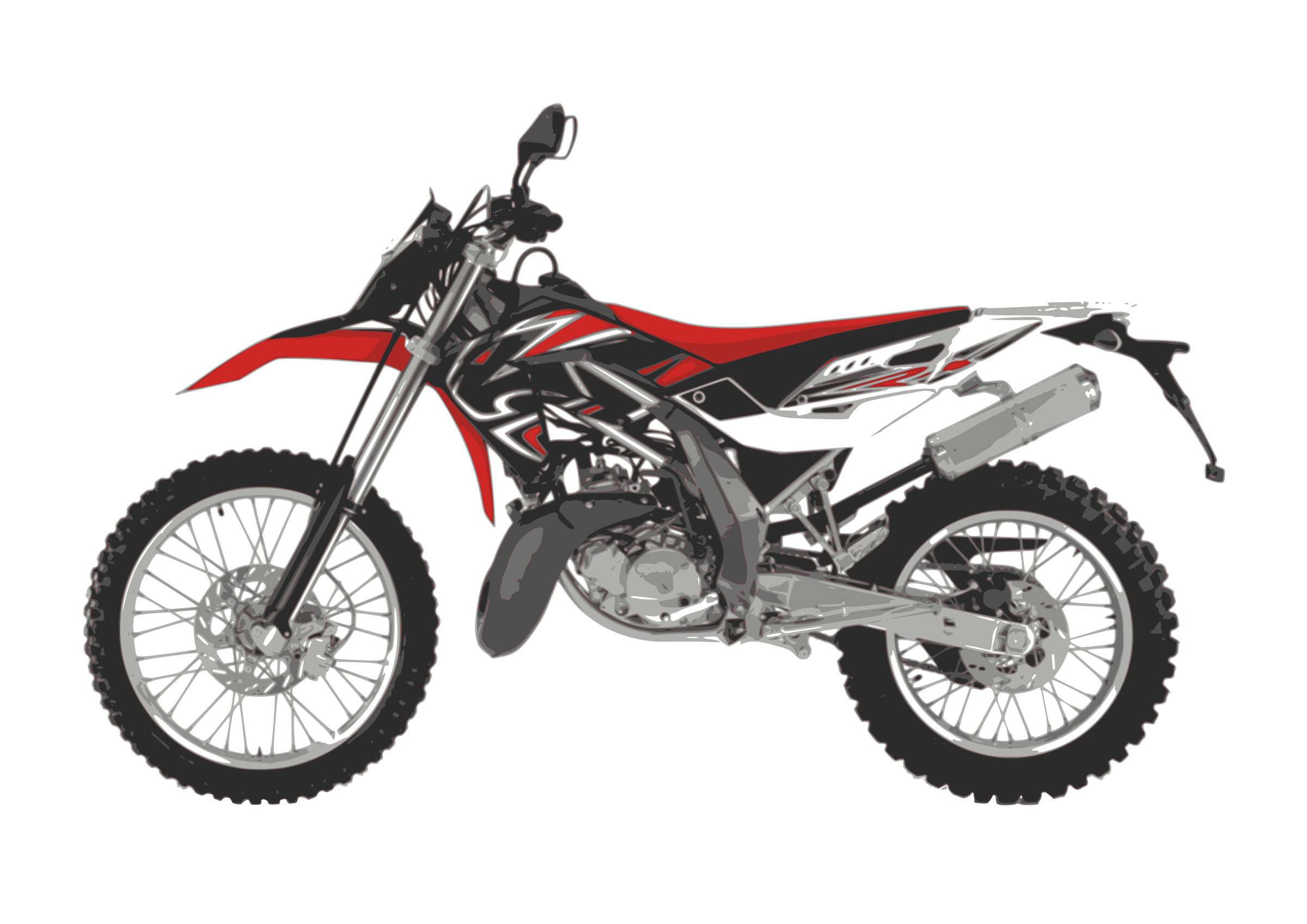 motorcycle enduro by Isidoro Ambasch