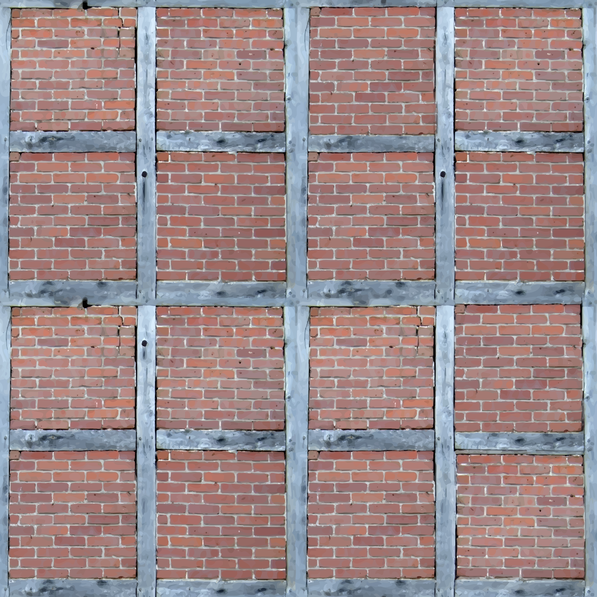 Brick wall 4 by Firkin