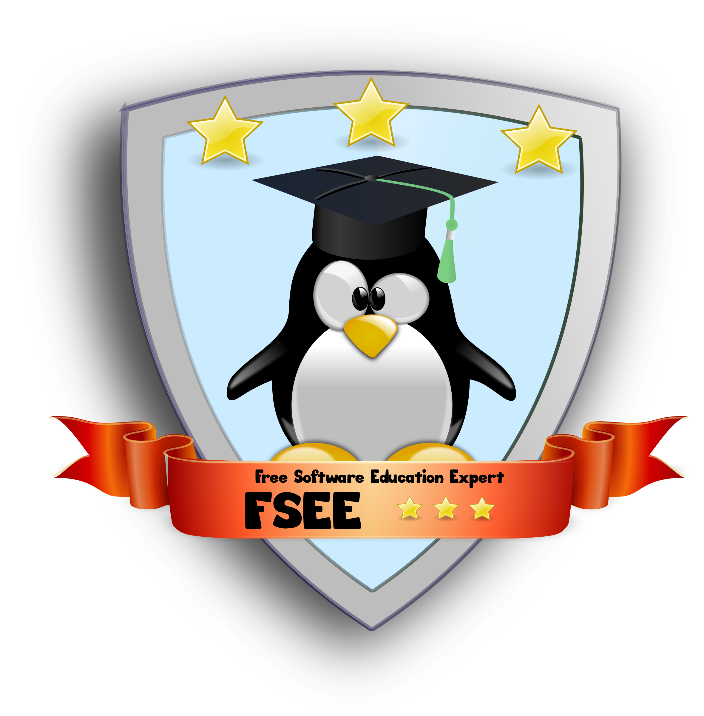 Free Software Education Expert Bagde by B.Lachner