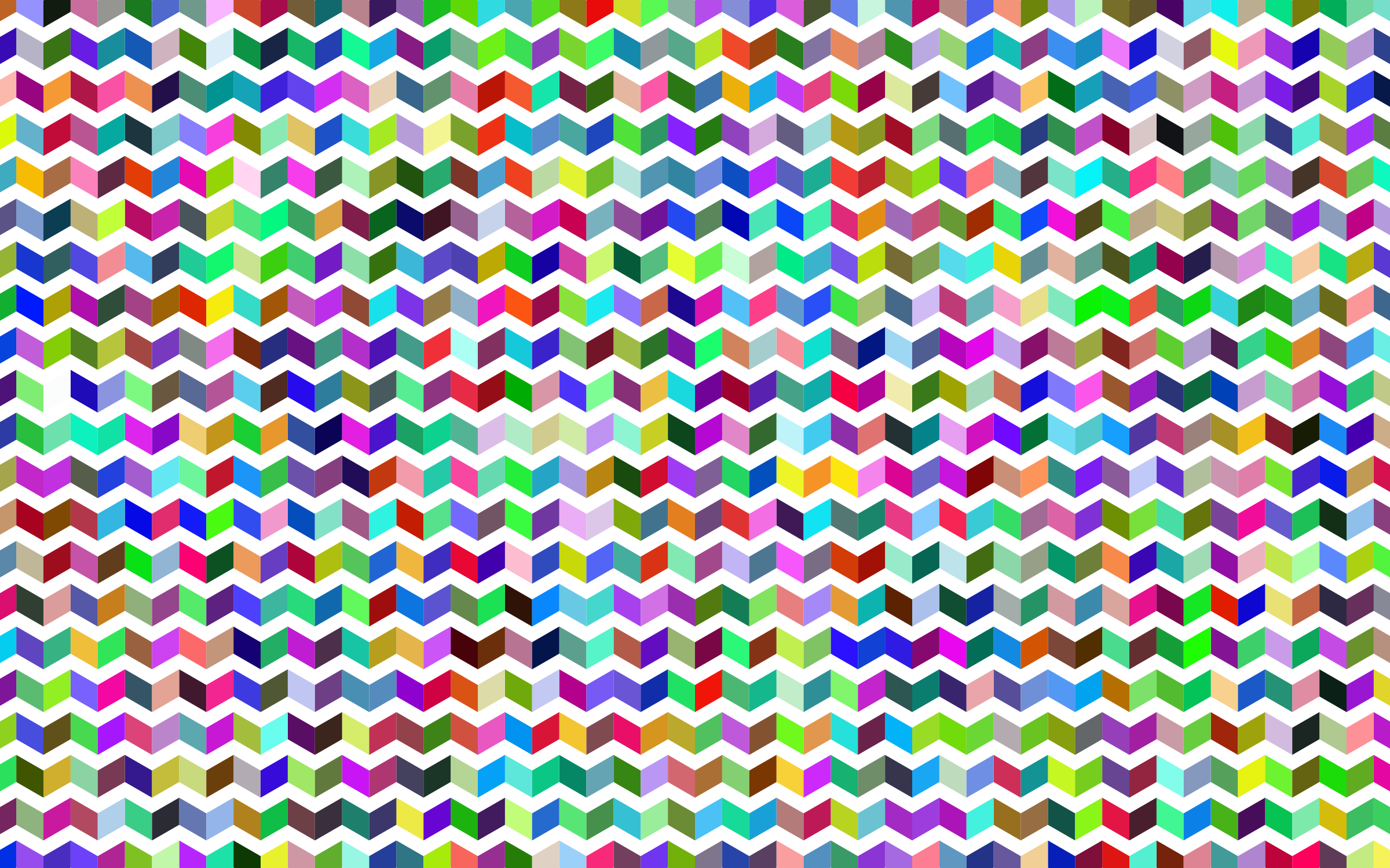 Prismatic Chevrons Pattern by GDJ