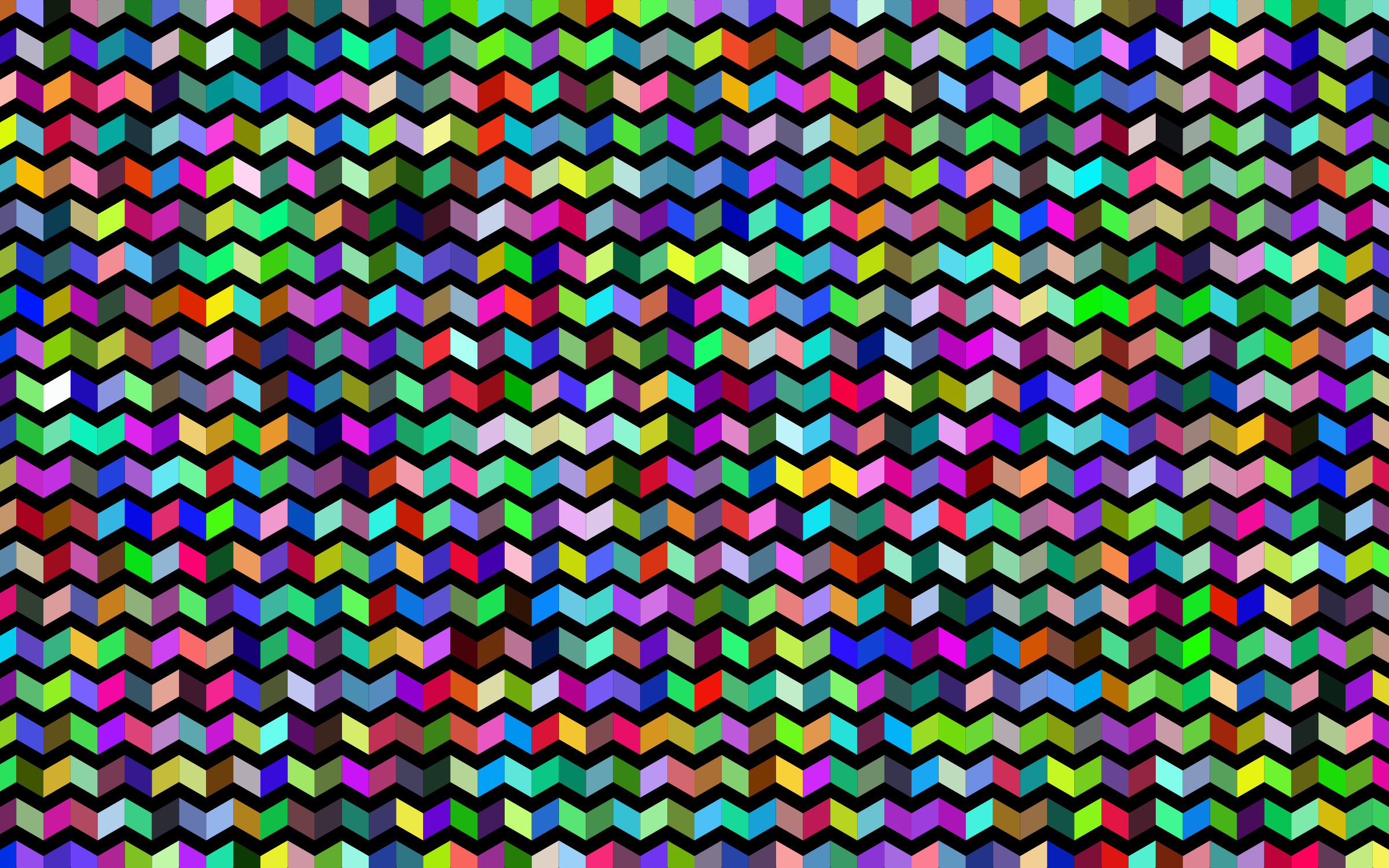 Prismatic Chevrons Pattern With Background by GDJ