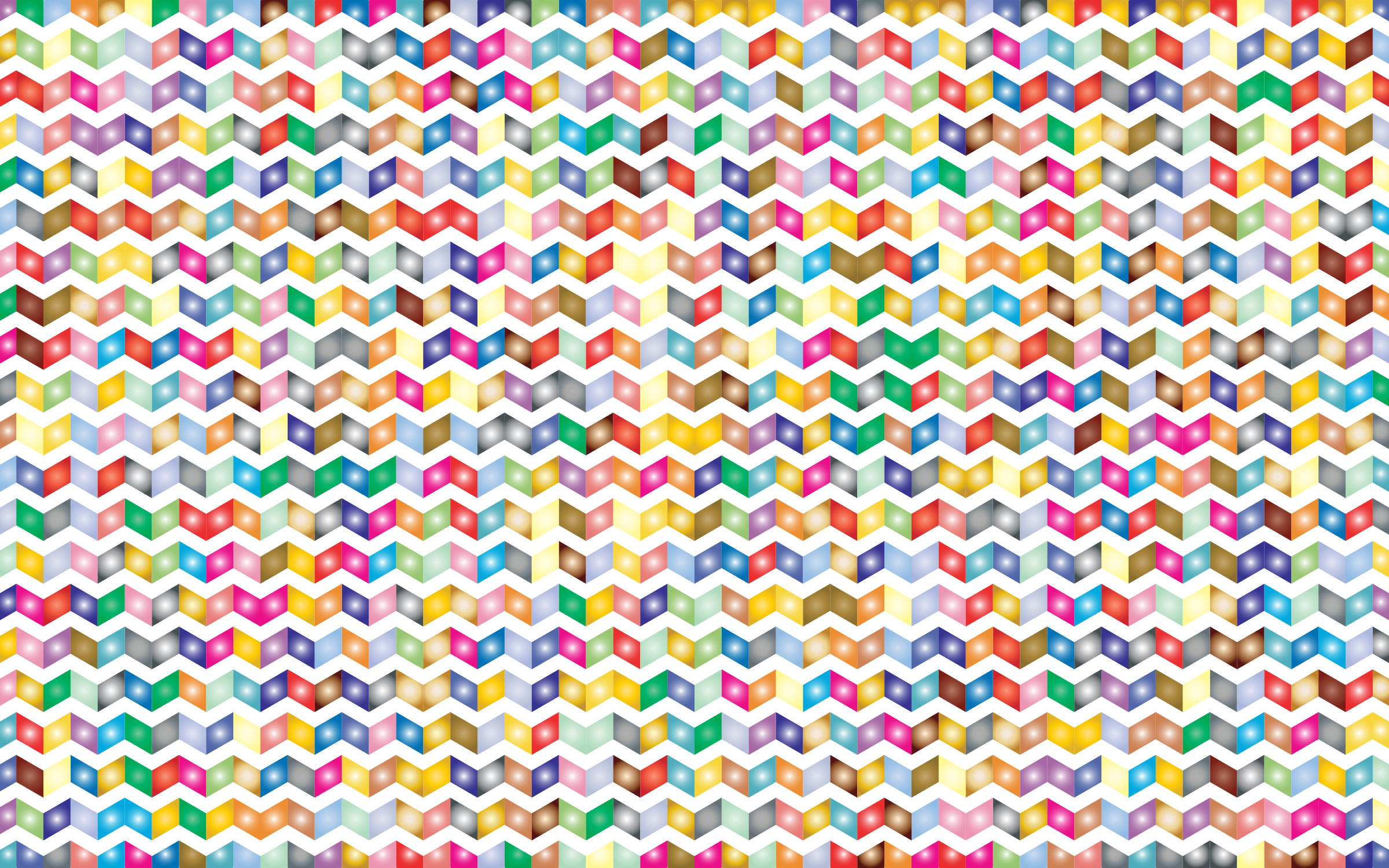 Prismatic Chevrons Pattern 2 by GDJ