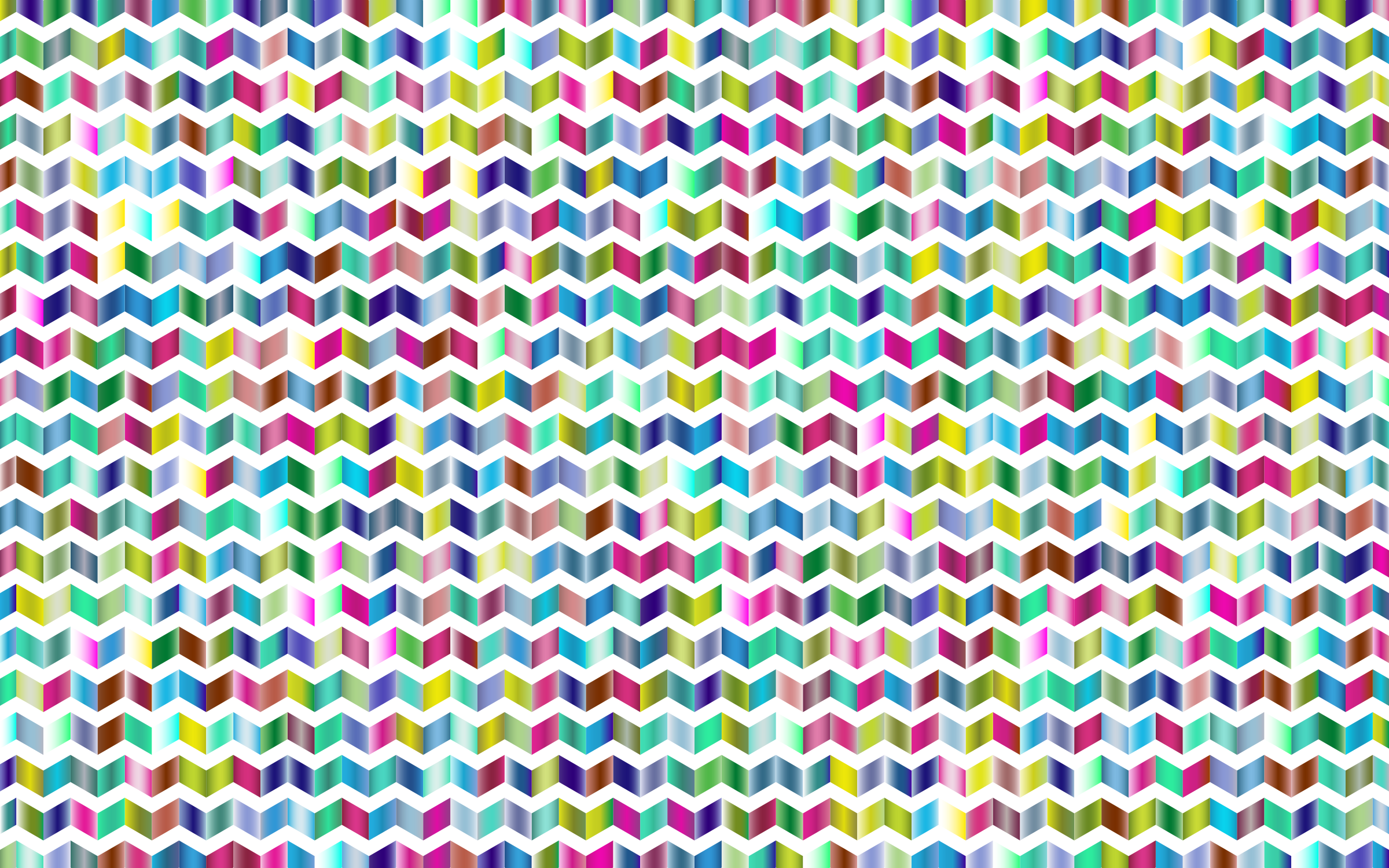 Prismatic Chevrons Pattern 3 by GDJ