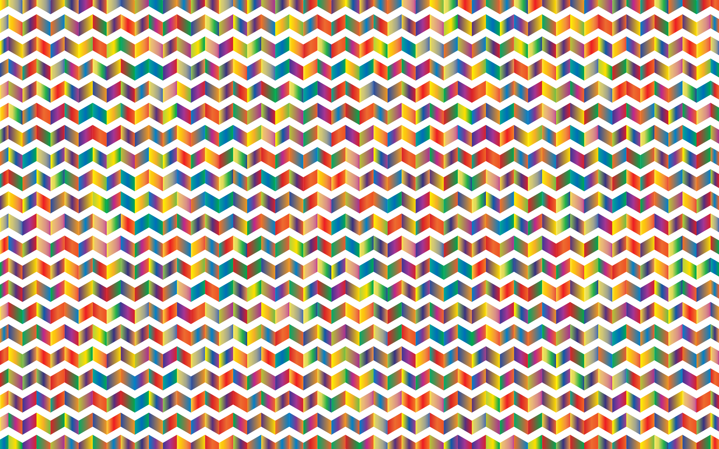 Prismatic Chevrons Pattern 4 by GDJ