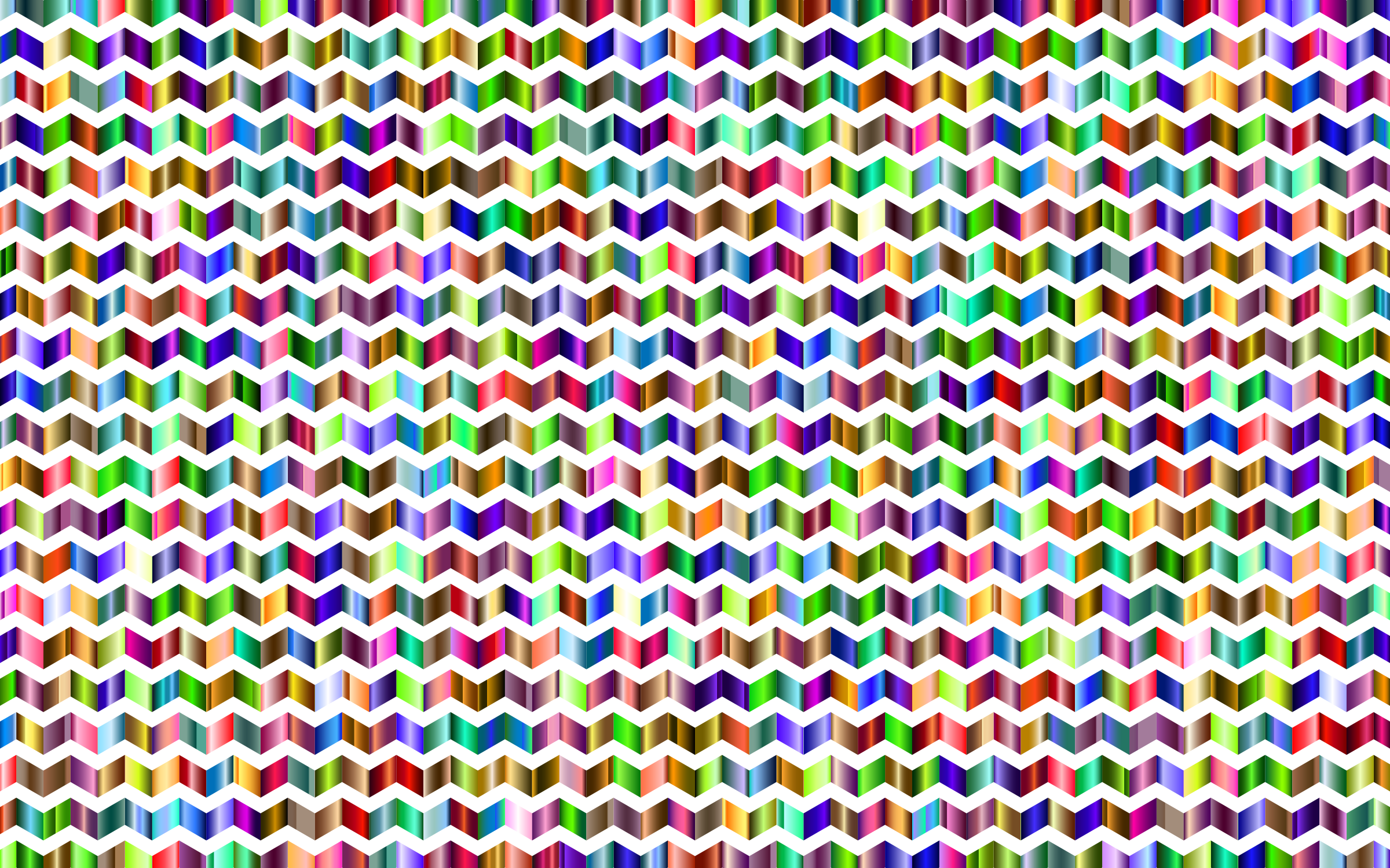 Prismatic Chevrons Pattern 6 by GDJ