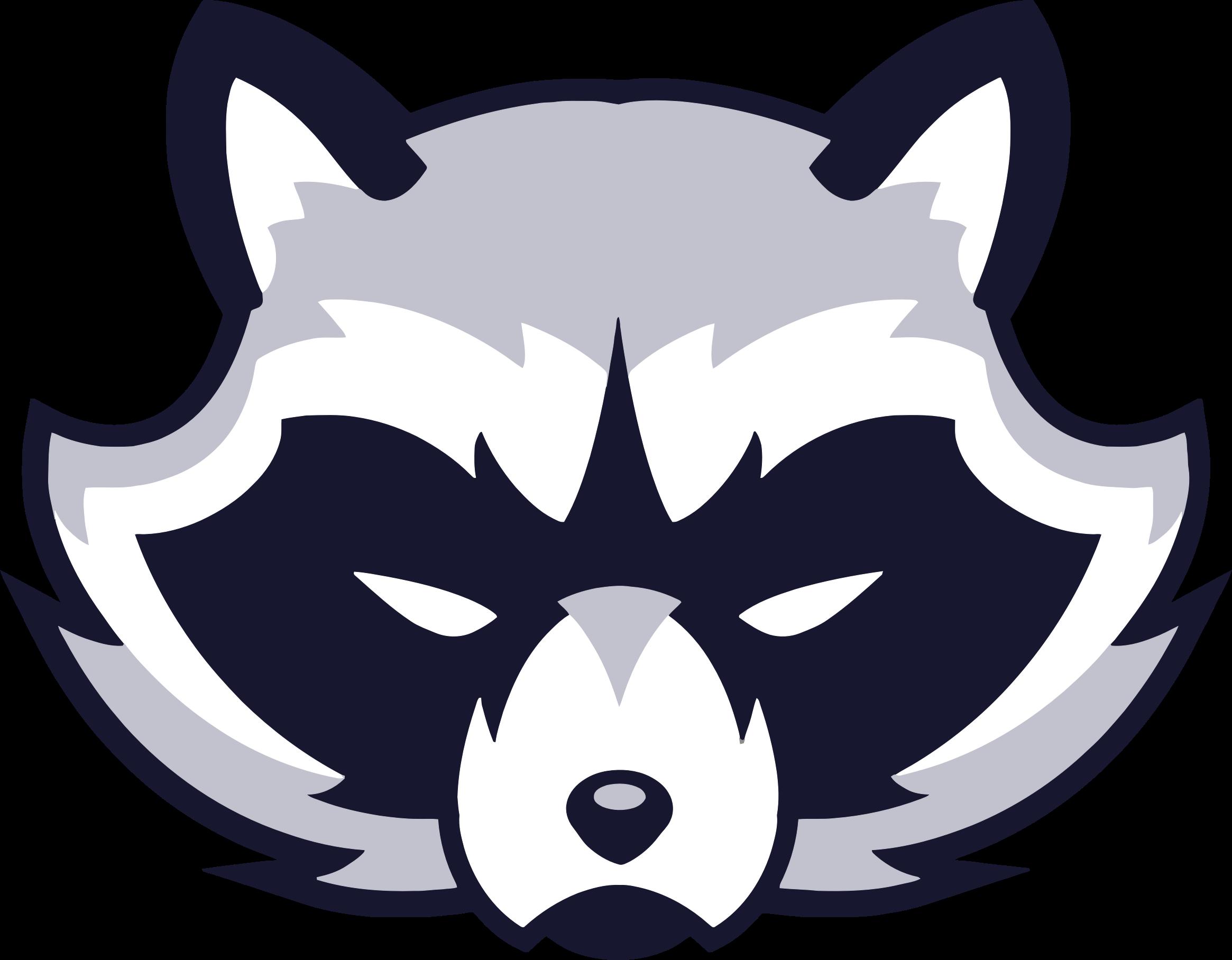 Clipart - Raccoon Face Logo Raccoon Face Clip Art