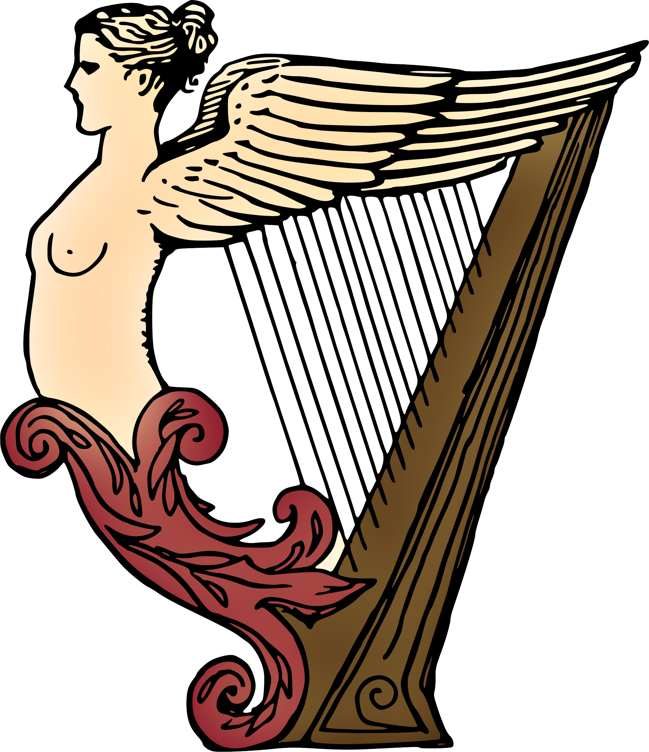 Harp (coloured) by Firkin